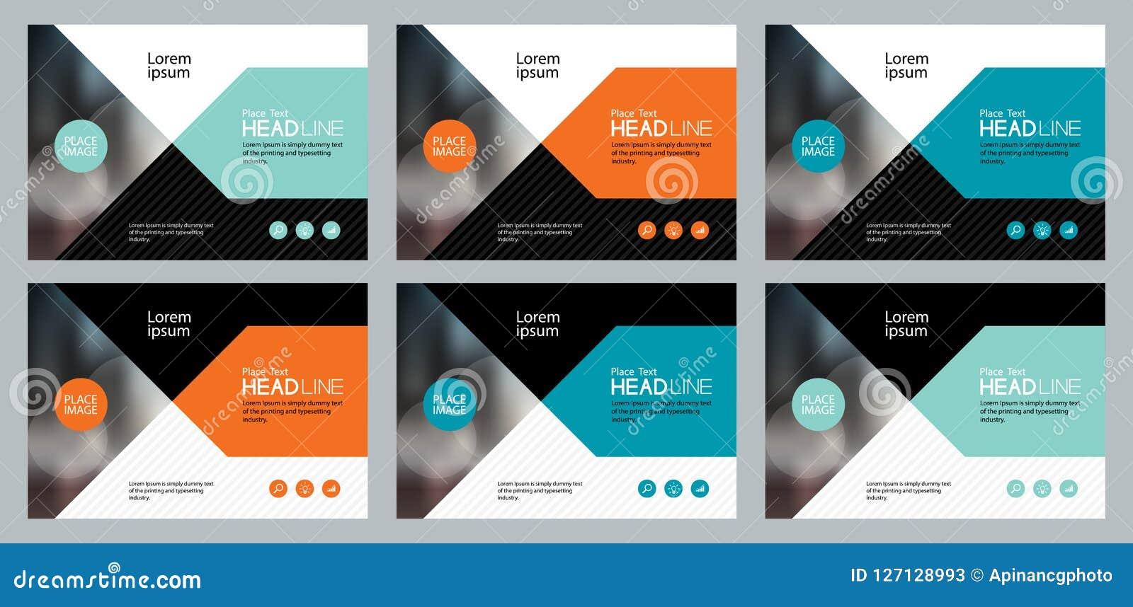 set abstract background template design for social media. Black Bedroom Furniture Sets. Home Design Ideas