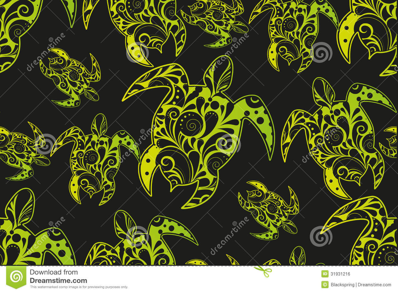 Set of african style design elements. Set Of African Style Design Elements Royalty Free Stock Image