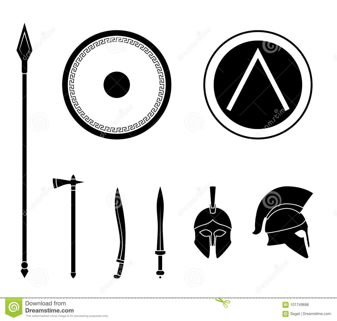 Ancient Greece Symbols Eye Clipart Library