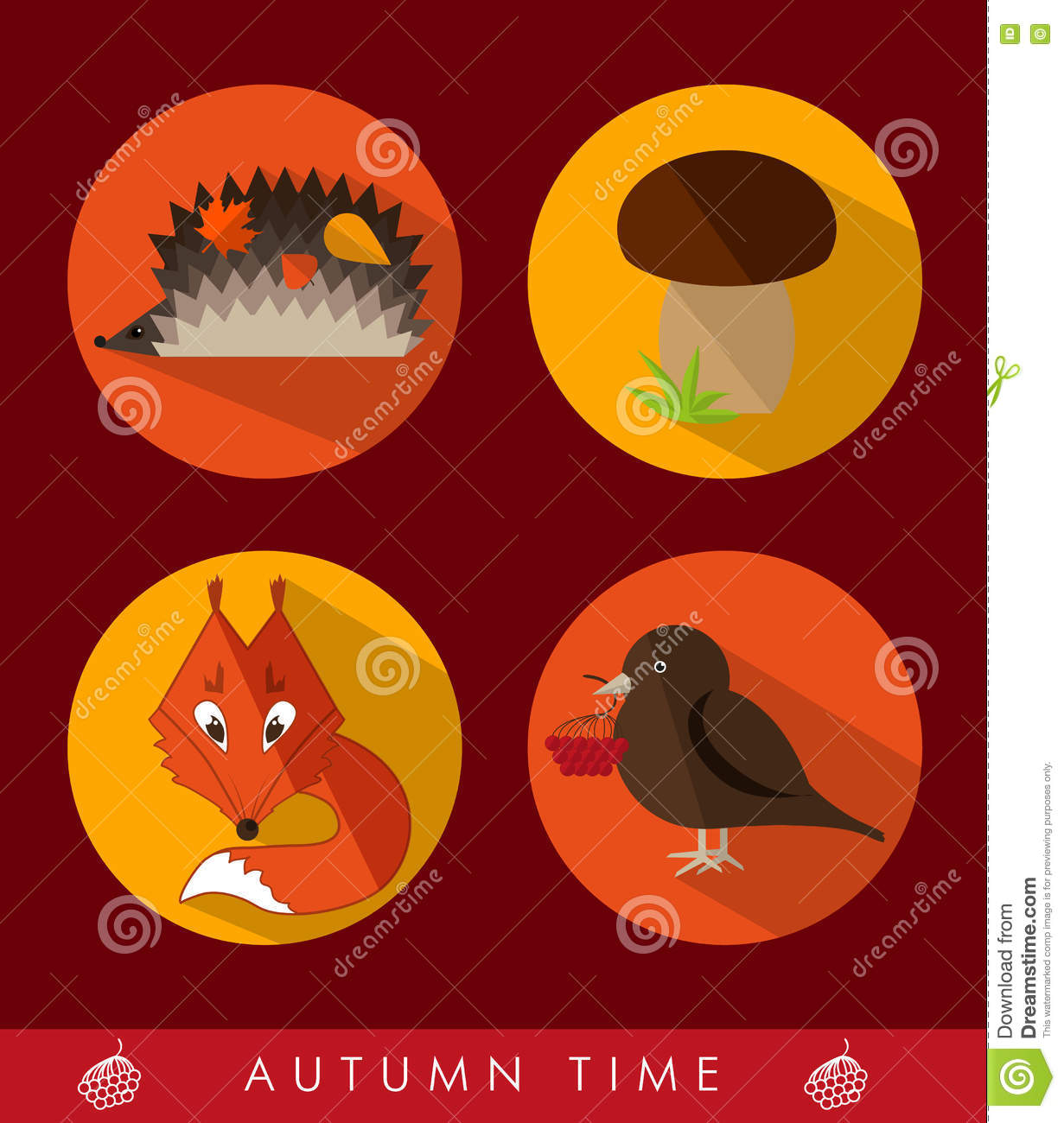 Red fox cartoons illustrations vector stock images 1893 pictures to download from - Autumn plowing time all set for winter ...