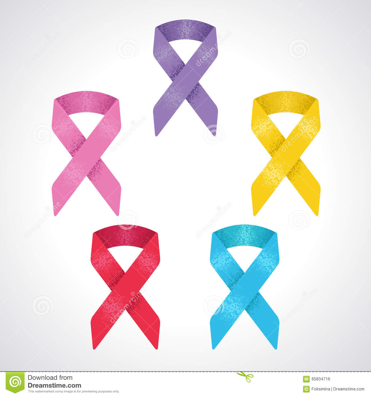 Set of 5 awareness ribbon symbol of world cancer day breast set of 5 awareness ribbon symbol of world cancer day breast cancer children cancer prostate cancer world aids day biocorpaavc