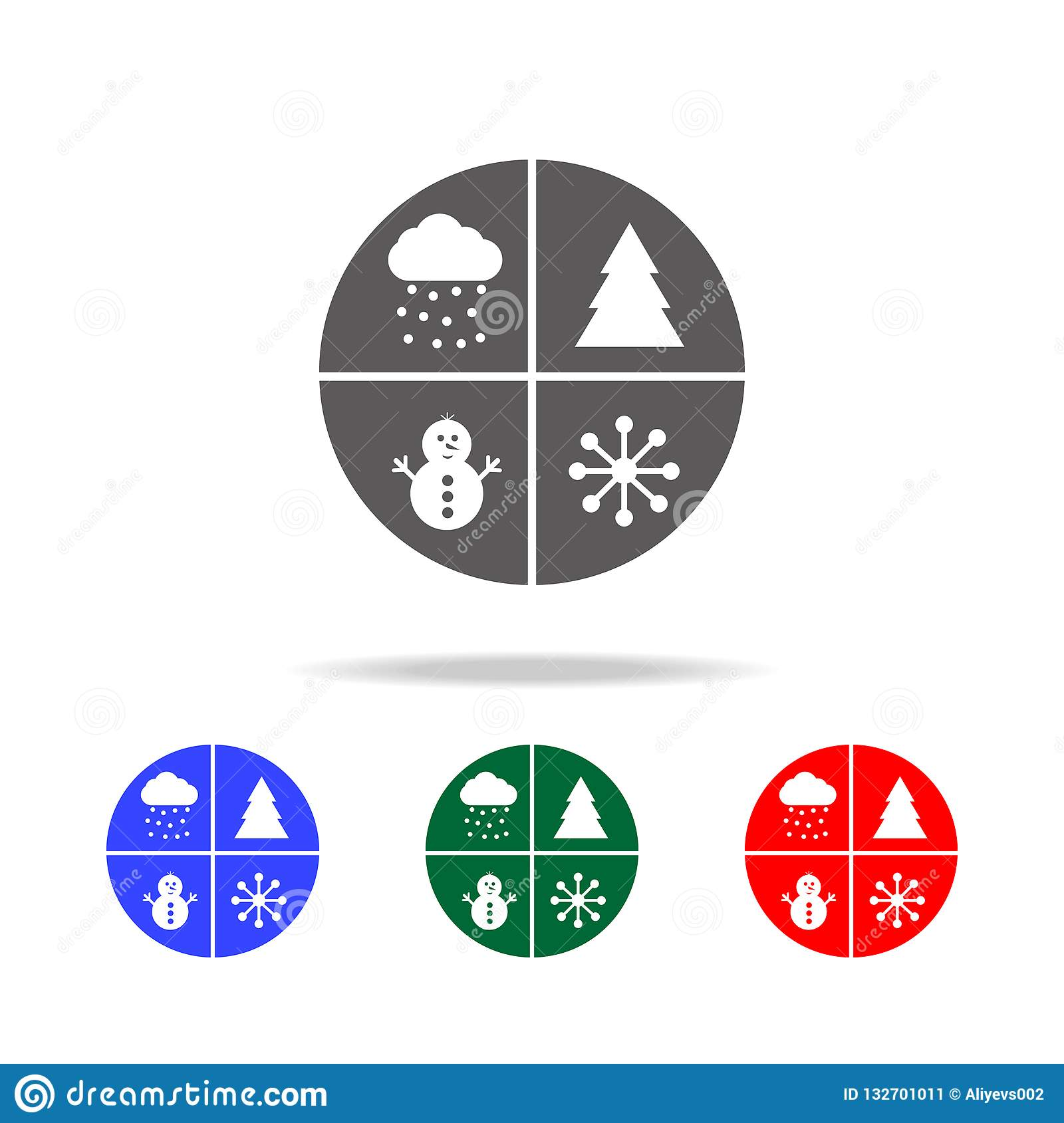 Christmas Holidays Icon.Set Baby Christmas Stickers Icon Elements Of Christmas