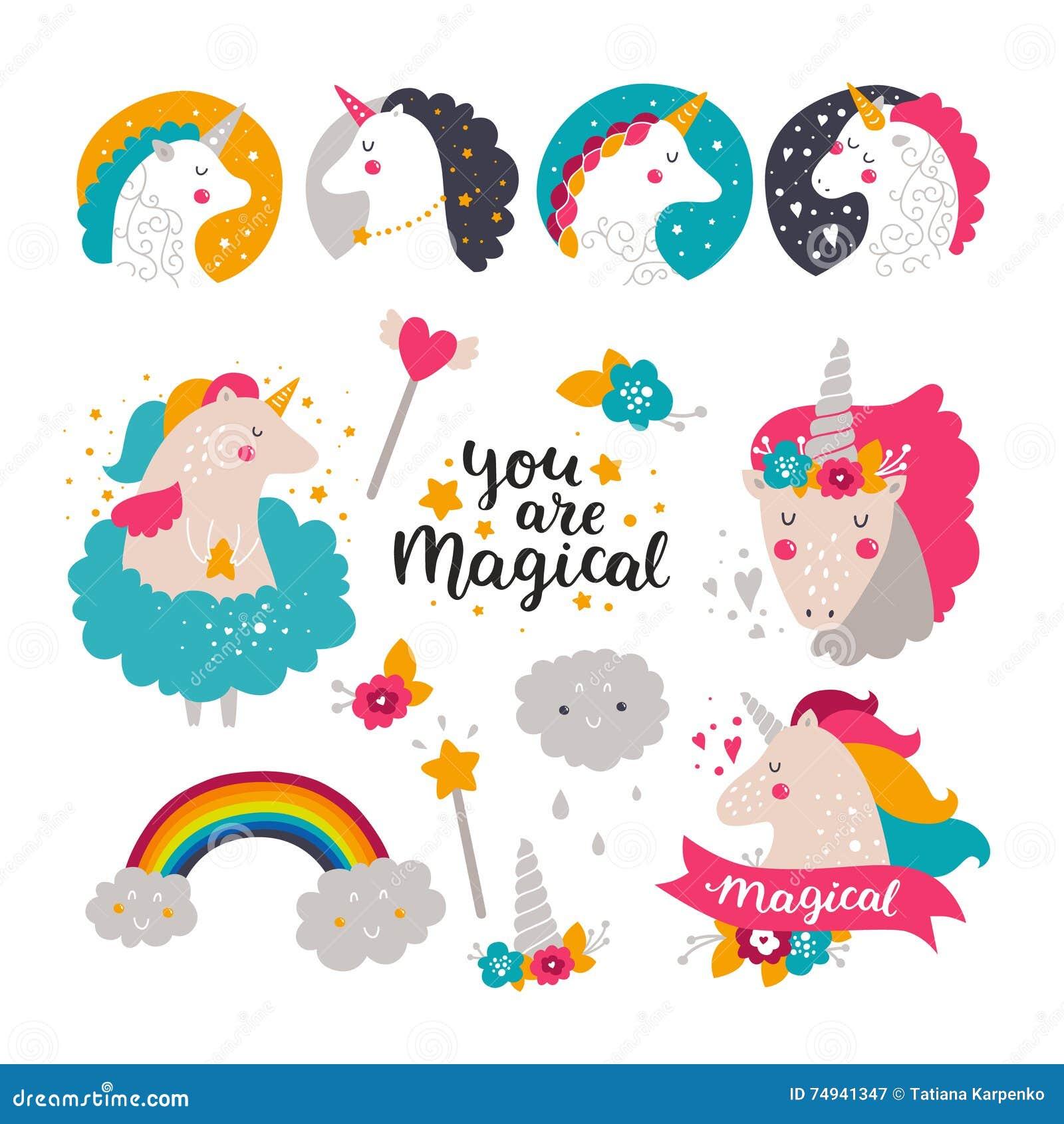 Unicorn Birthday Invitation Templates with adorable invitation sample