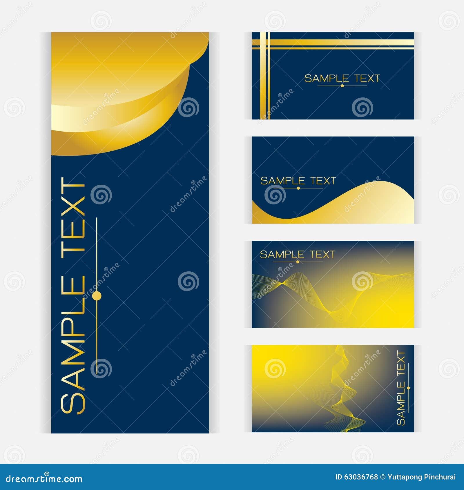 Gold Picture Frame Set