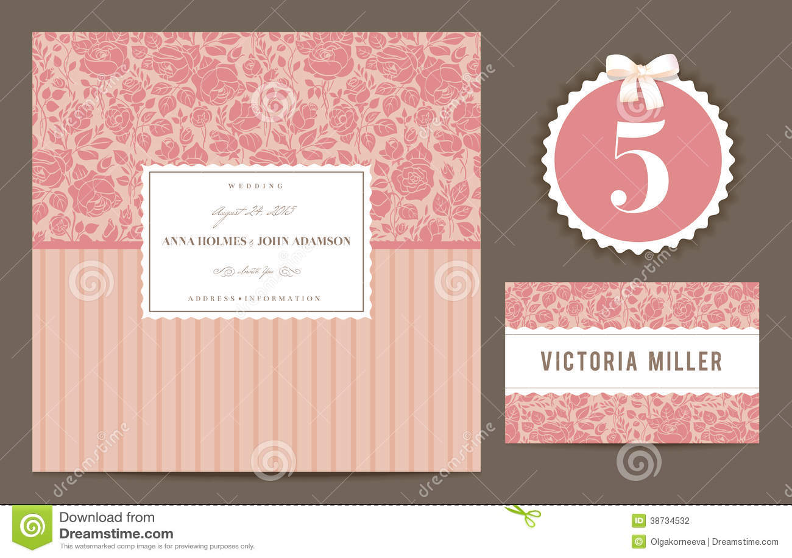 Coral Wedding Invitation was great invitation layout