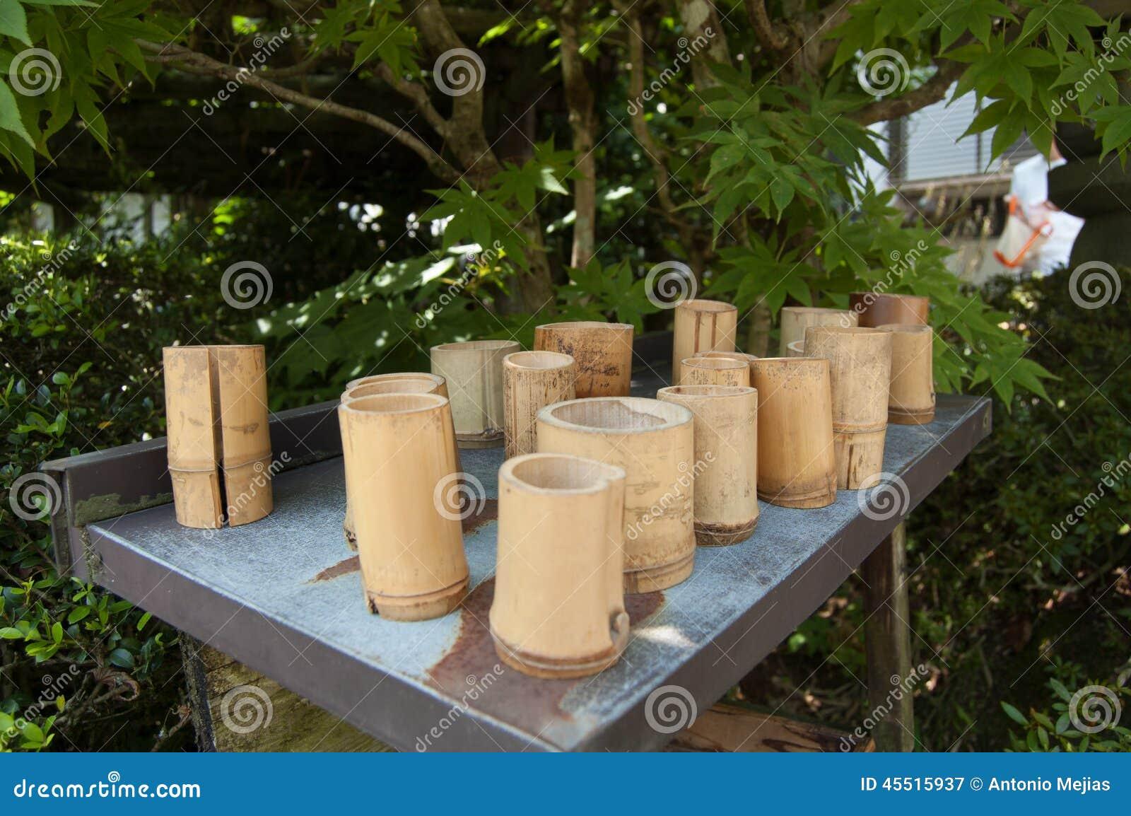 Set bambu szkło