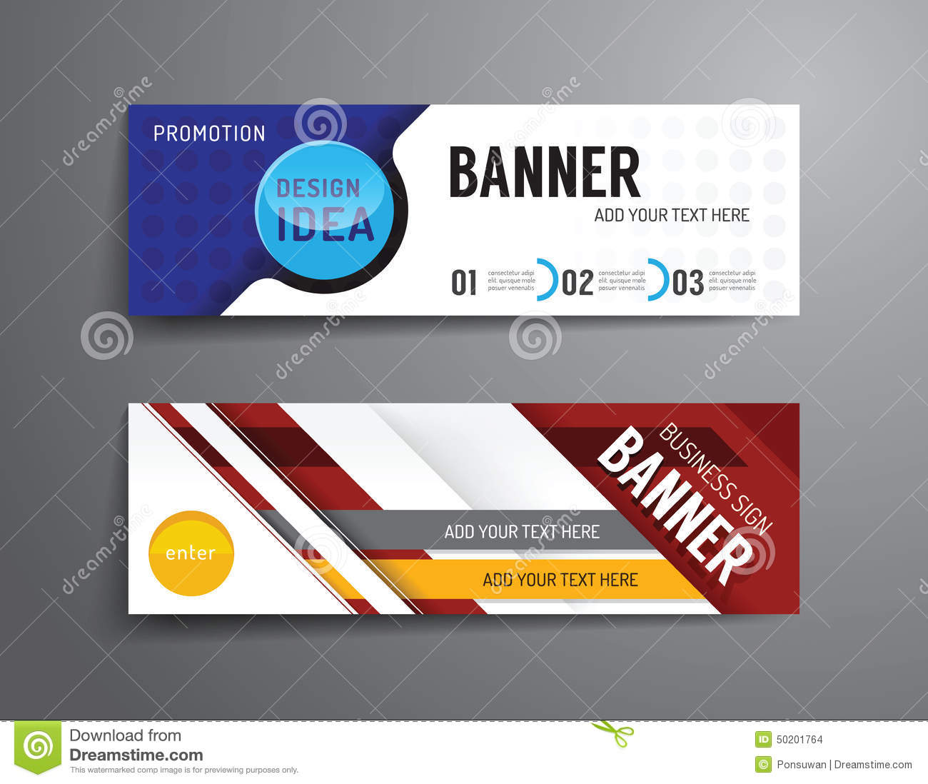 banner layout ideas