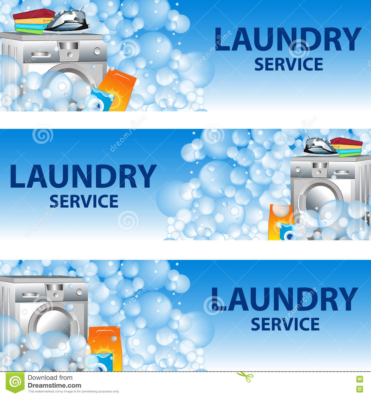 laundry services flyer template stock photography image  set banners laundry service poster template for house cleaning royalty stock image