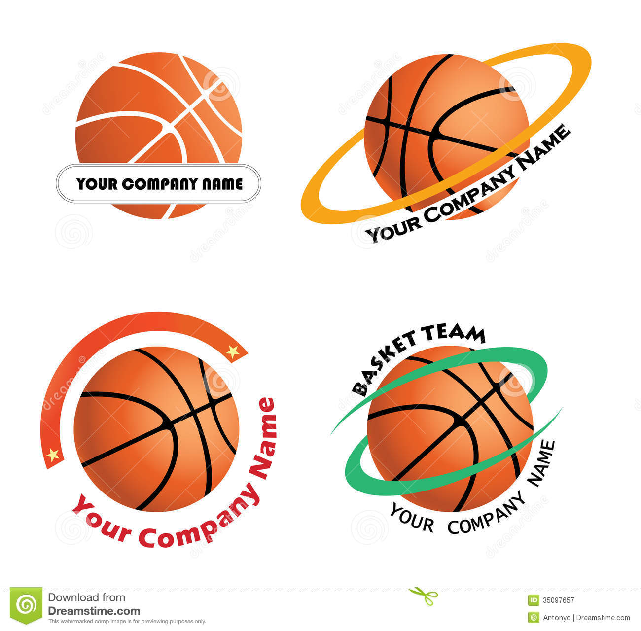 Portland Blazers Logo Vector: Basketball Team Logos Cartoon Vector