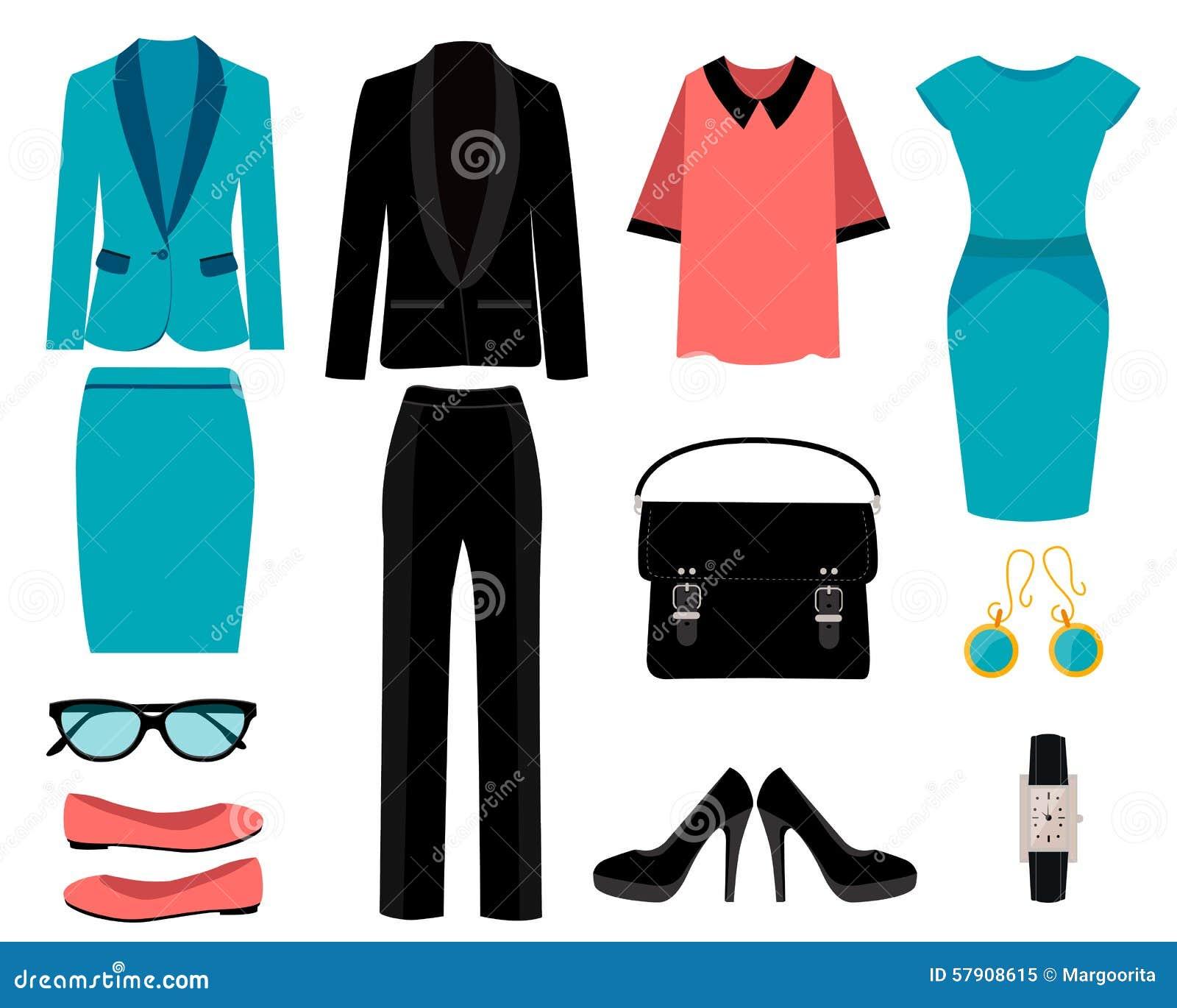 Set biznes odziewa