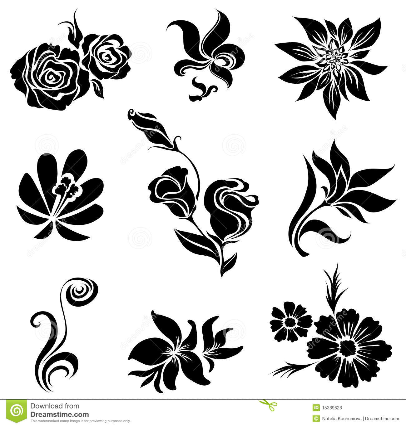Fiori 2d.2d Flower Design Fusmun