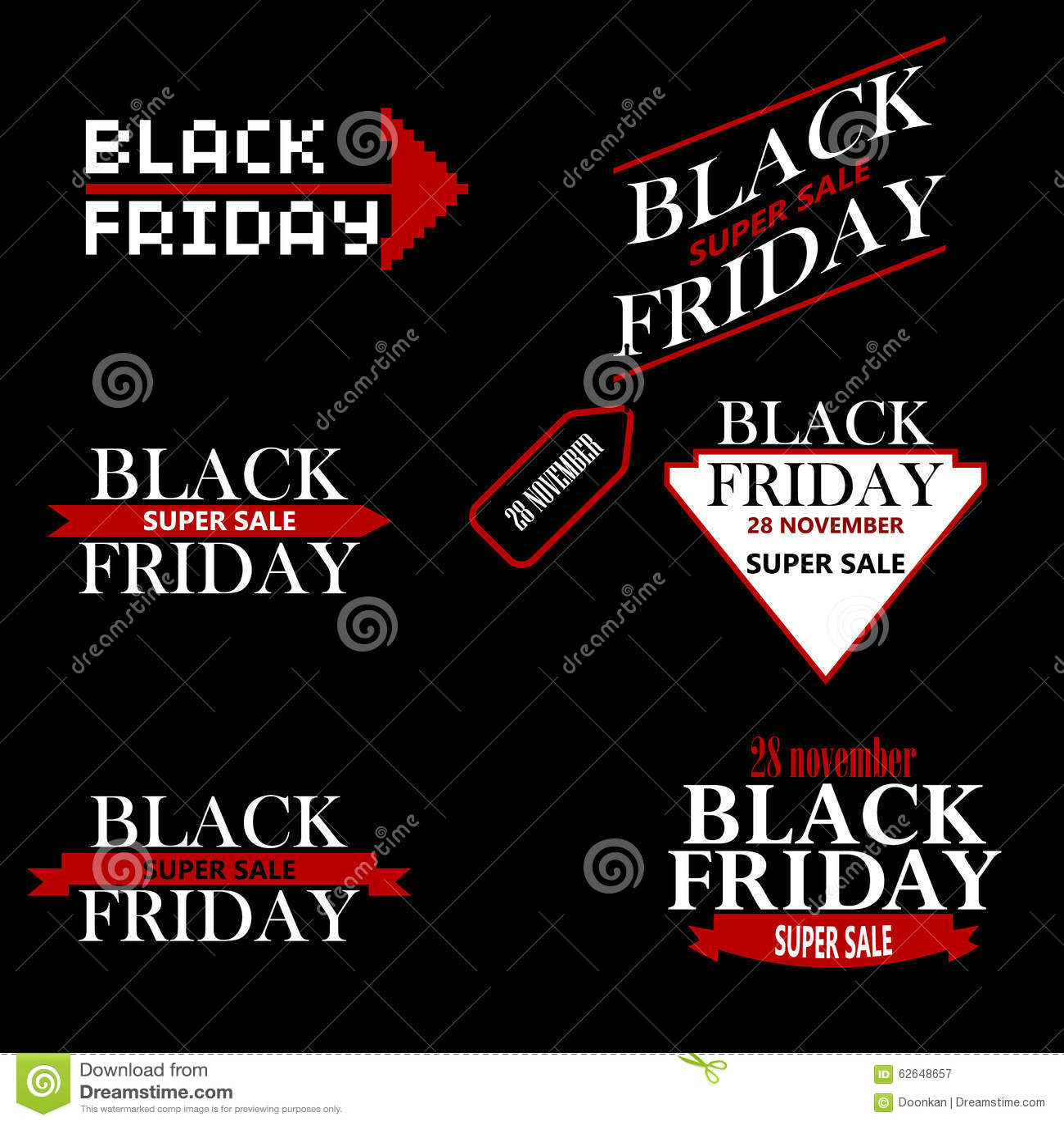 black friday sale inscription design template cartoon vector 78603005. Black Bedroom Furniture Sets. Home Design Ideas