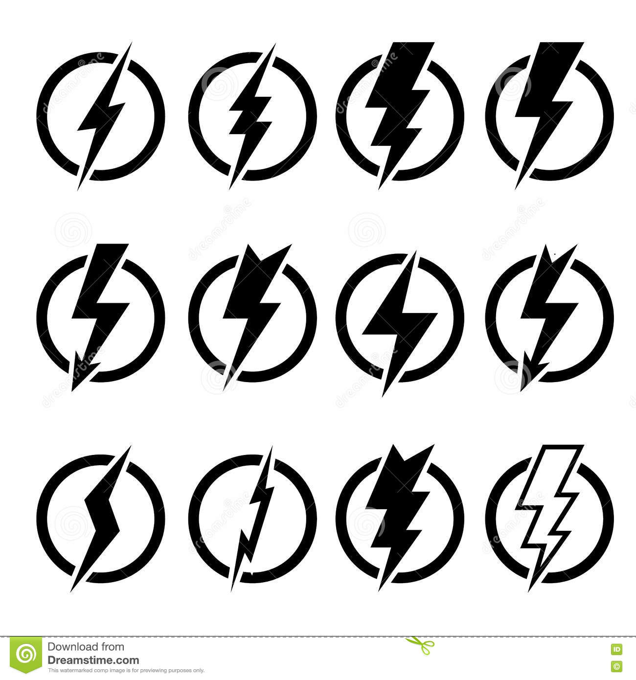 Set Of Black Lightning Bolts And Signs Stock Illustration Illustration Of Storm Background 74561210,Principles Of Design Pattern Picture