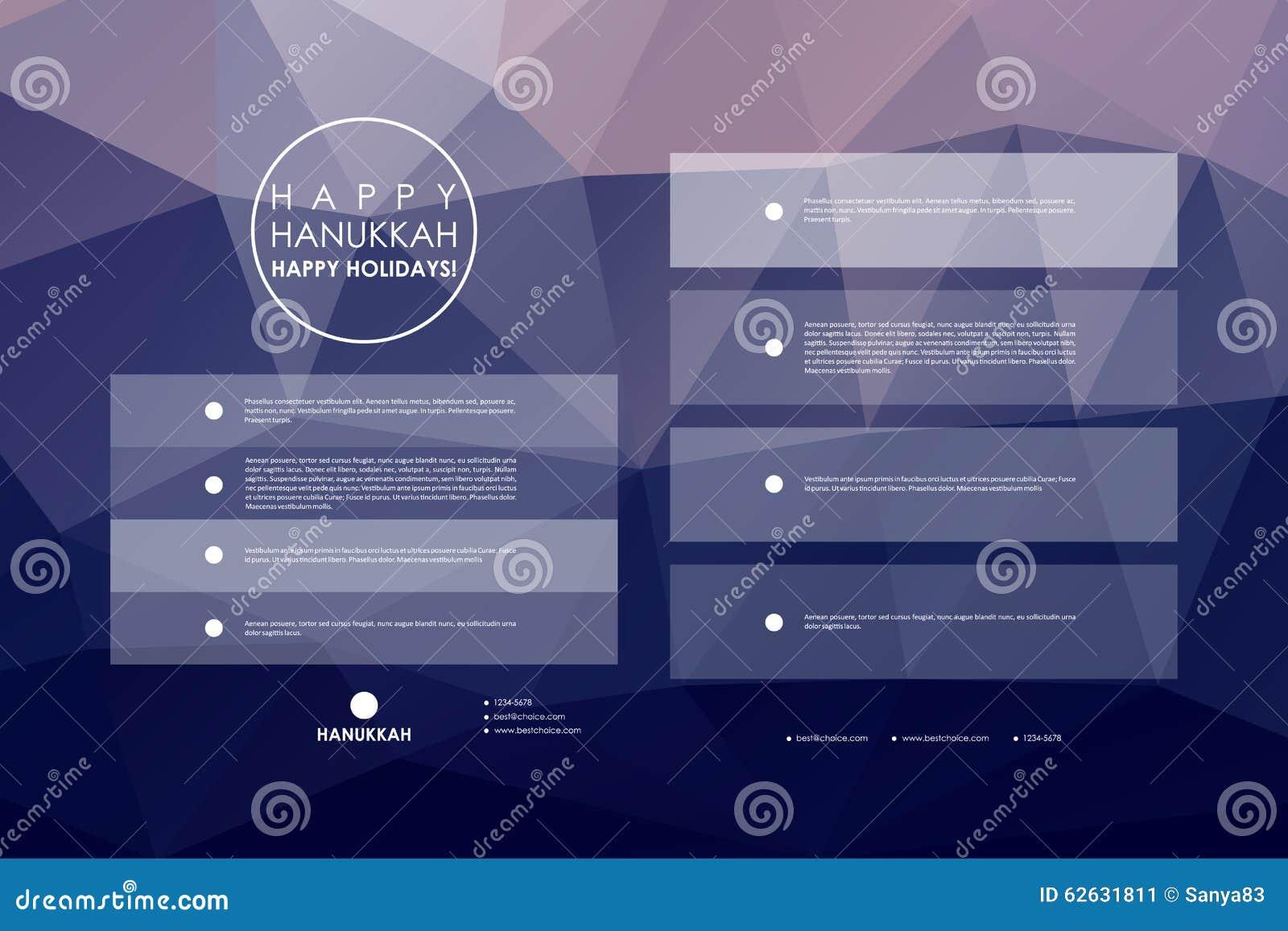 Set of brochure, poster design templates in