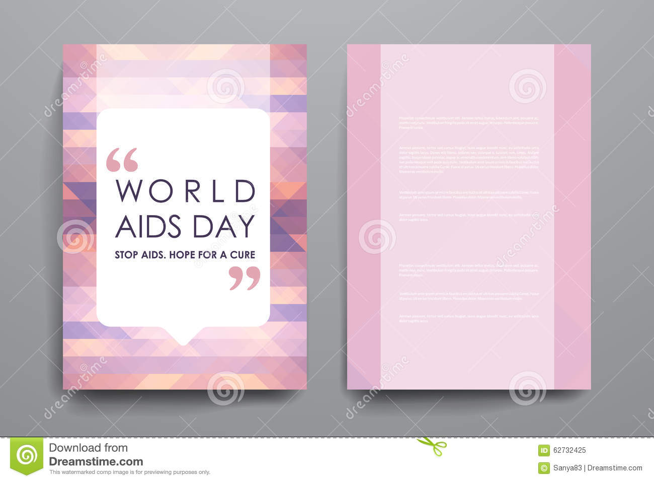 Set Of Brochure, Poster Design Templates In World Stock ...