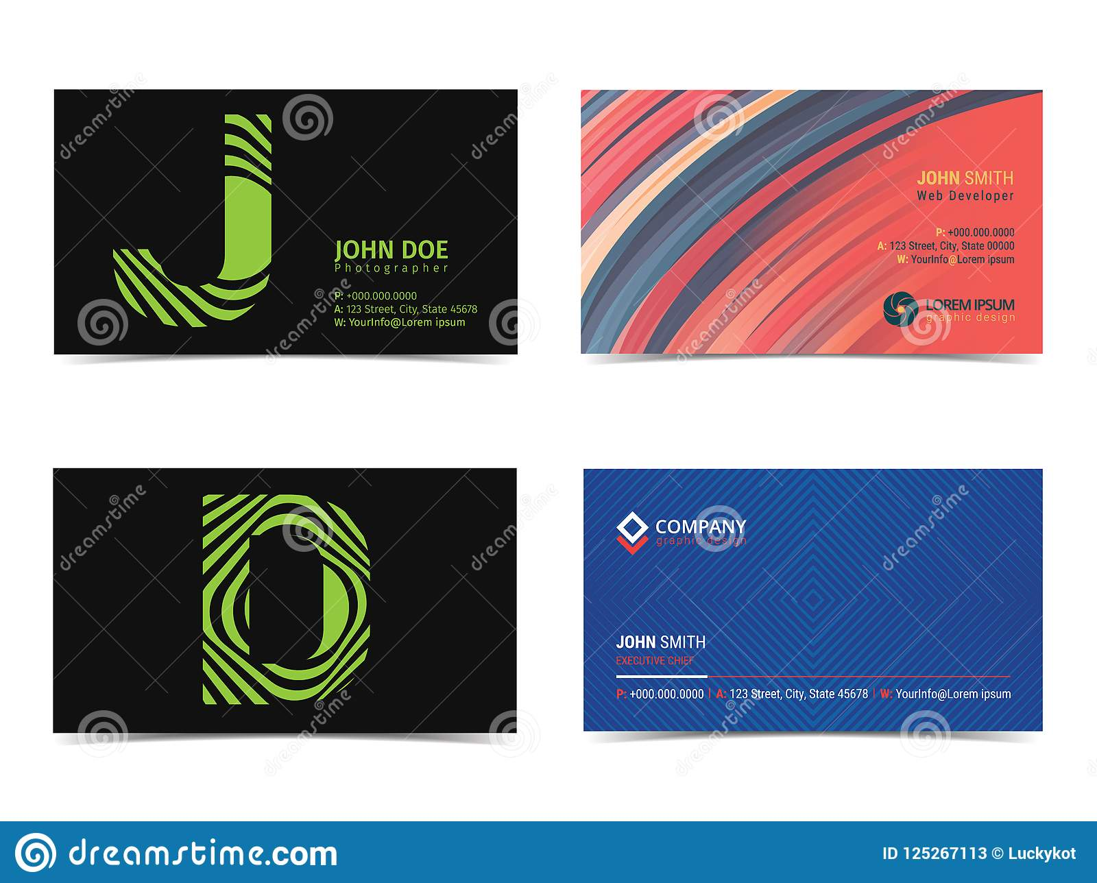 Set of 35 x 2 business card mockup font as illustration stock download set of 35 x 2 business card mockup font as illustration reheart Choice Image