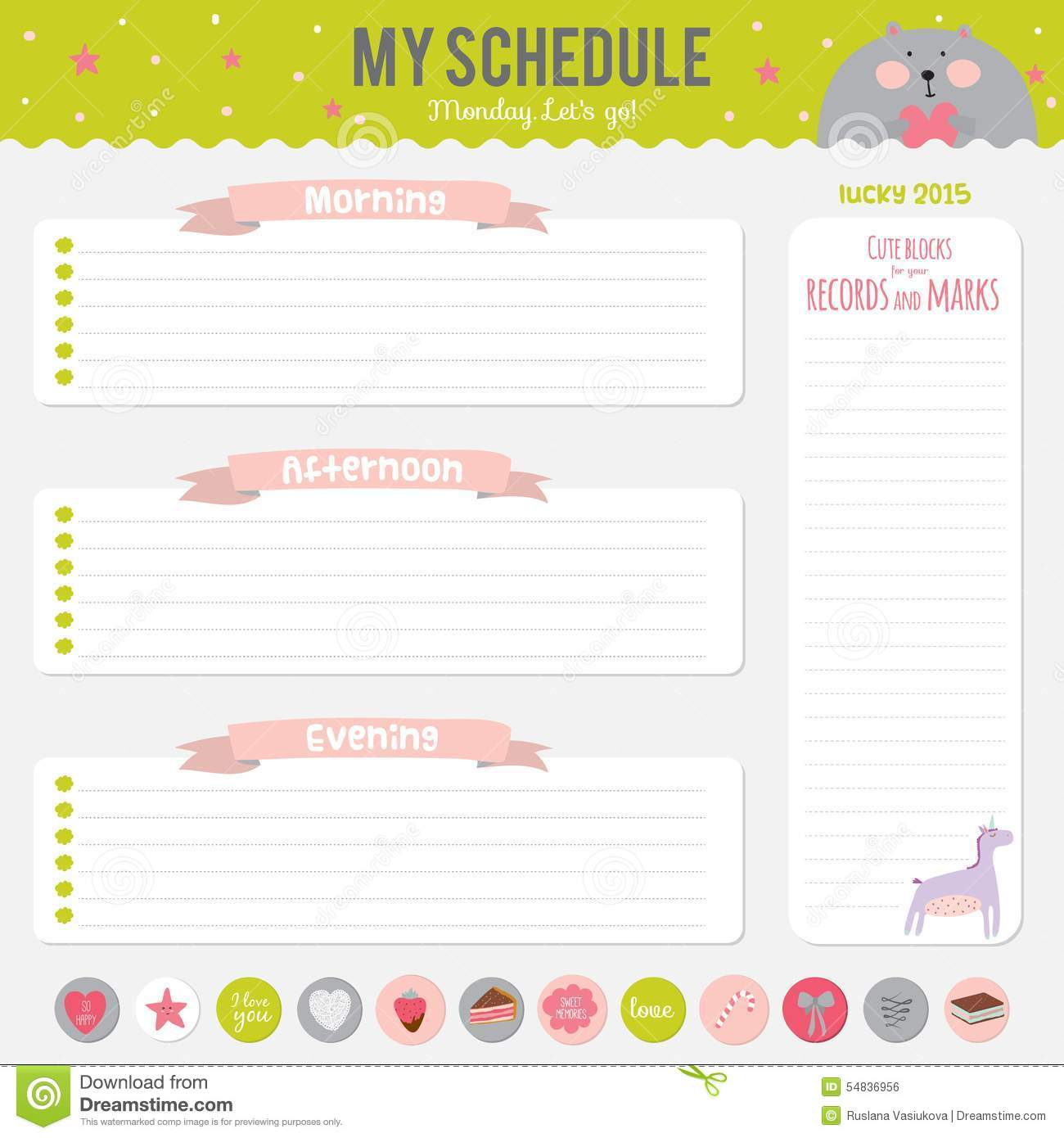 personal diary templates