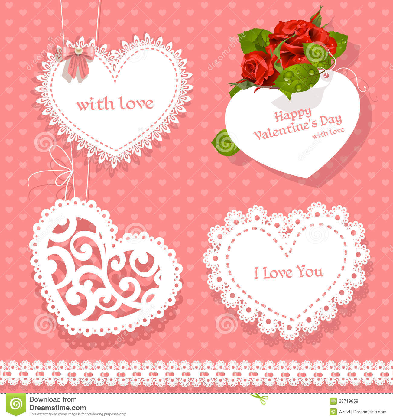 Stickers Valentines Day With A Beautiful Text Photography – Valentine Heart Cards
