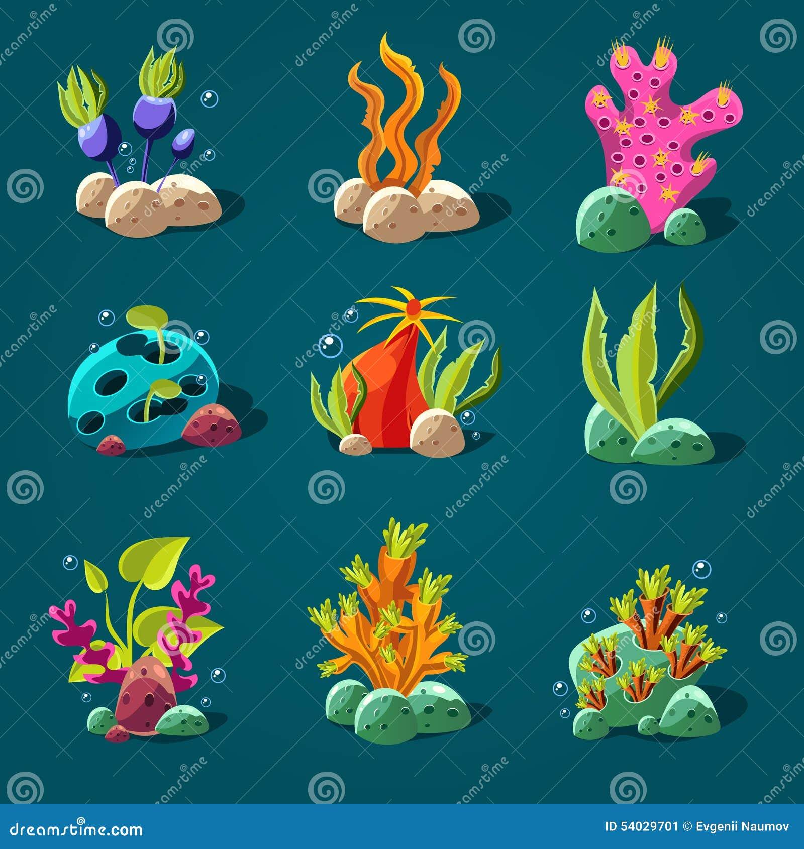 Simple Coral Reef Painting