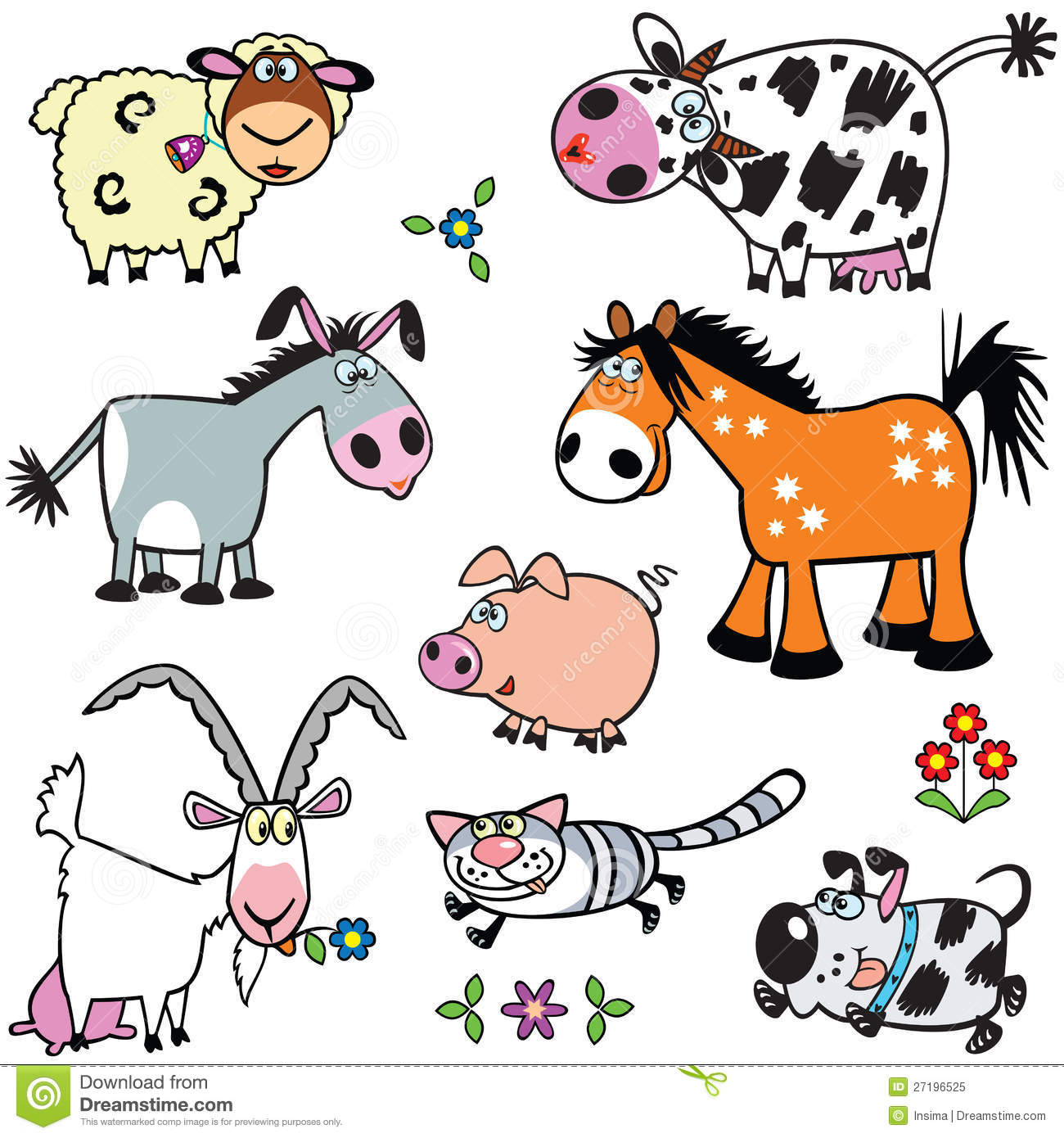 Farm Animals For Kids ...