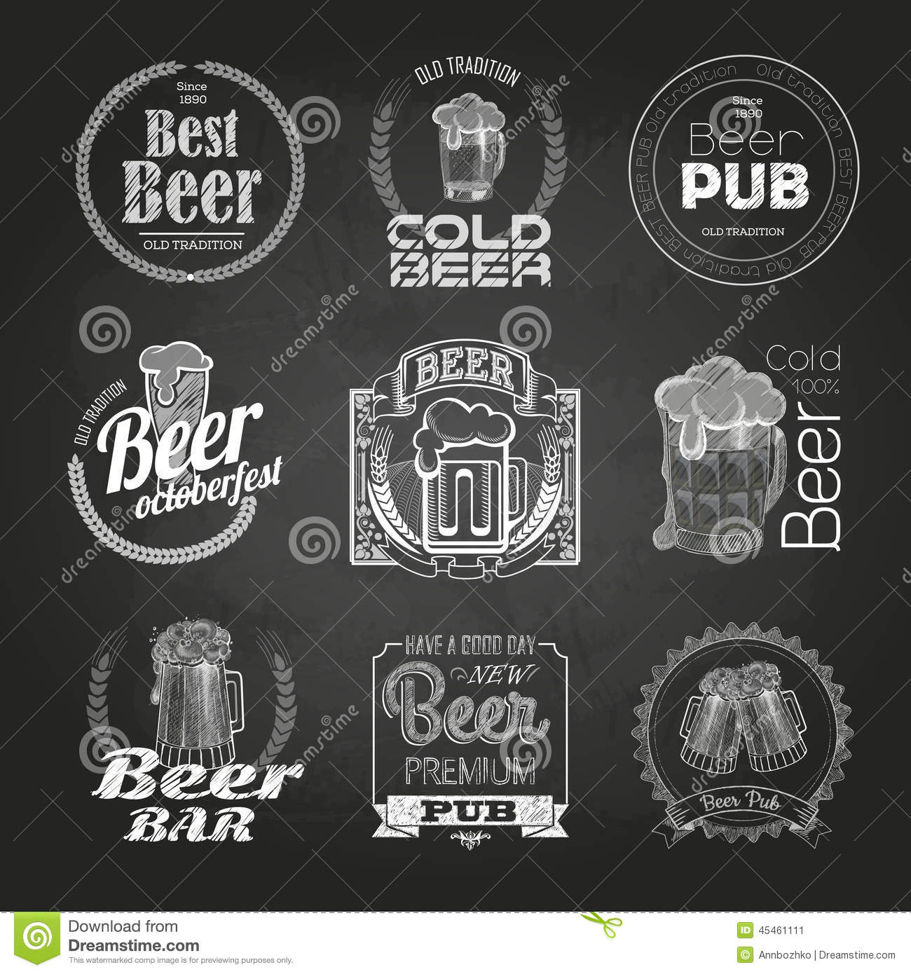 how to draw southwark beer signs