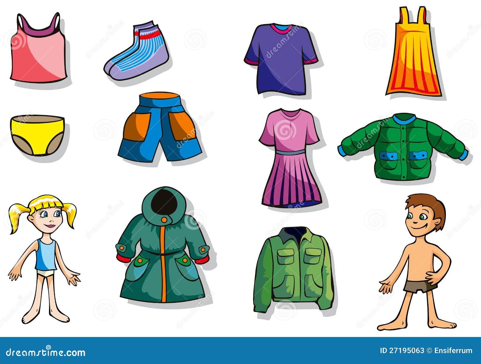 Set Of Children Clothes Stock Photos - Image: 27195063: http://www.dreamstime.com/stock-photos-set-children-clothes-image27195063