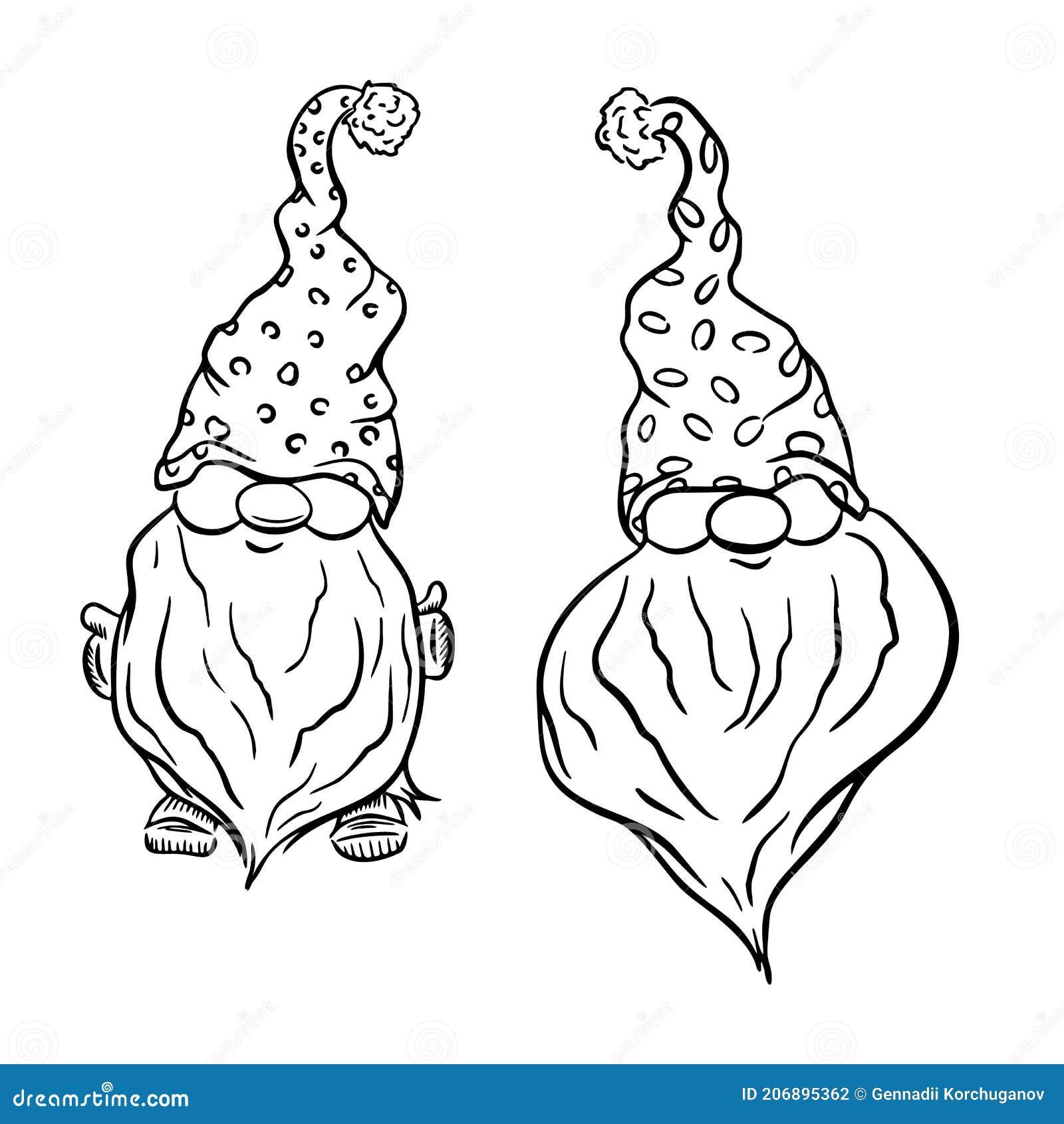 Black White Gnomes Stock Illustrations 174 Black White Gnomes Stock Illustrations Vectors Clipart Dreamstime
