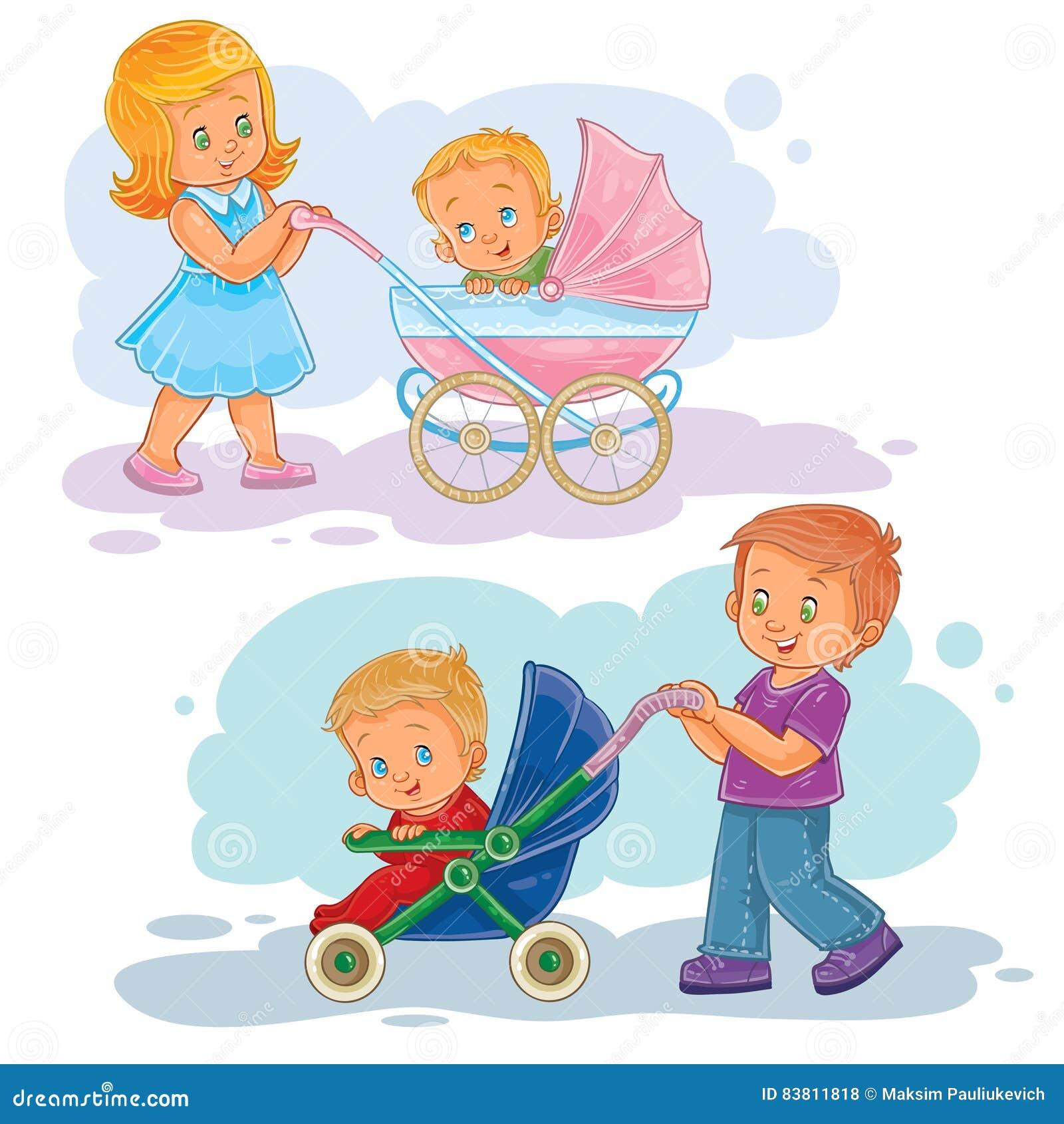 Stroller Cartoons, Illustrations & Vector Stock Images ... Baby Shower Elephant Cartoon