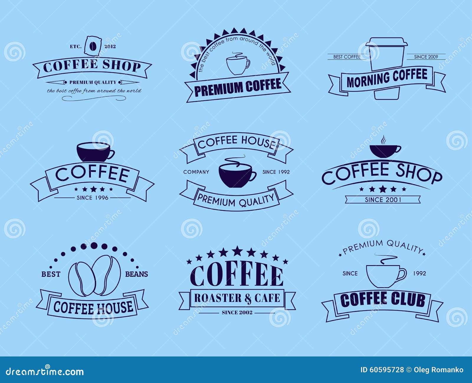 Art logo logo s coffee logo coffee shop coffee design shop logo coffee - Blue Coffee Design Illustration Logo