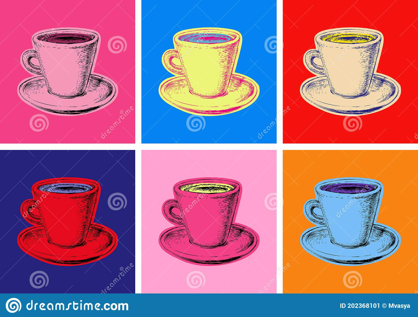 Coffee Mug Vector Stock Illustrations