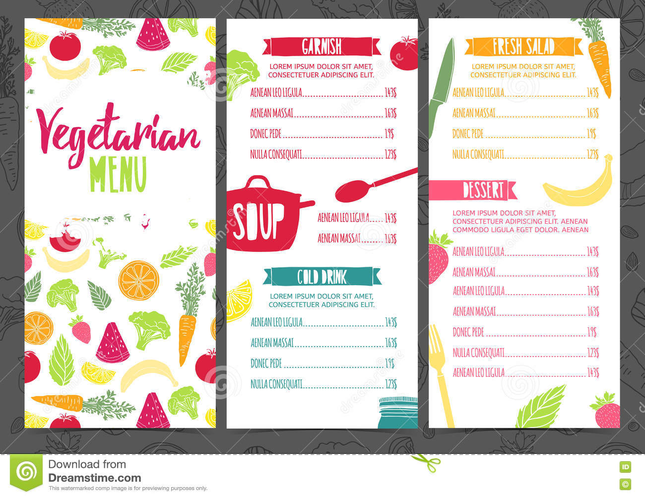 Sweet By Nature Cafe Menu