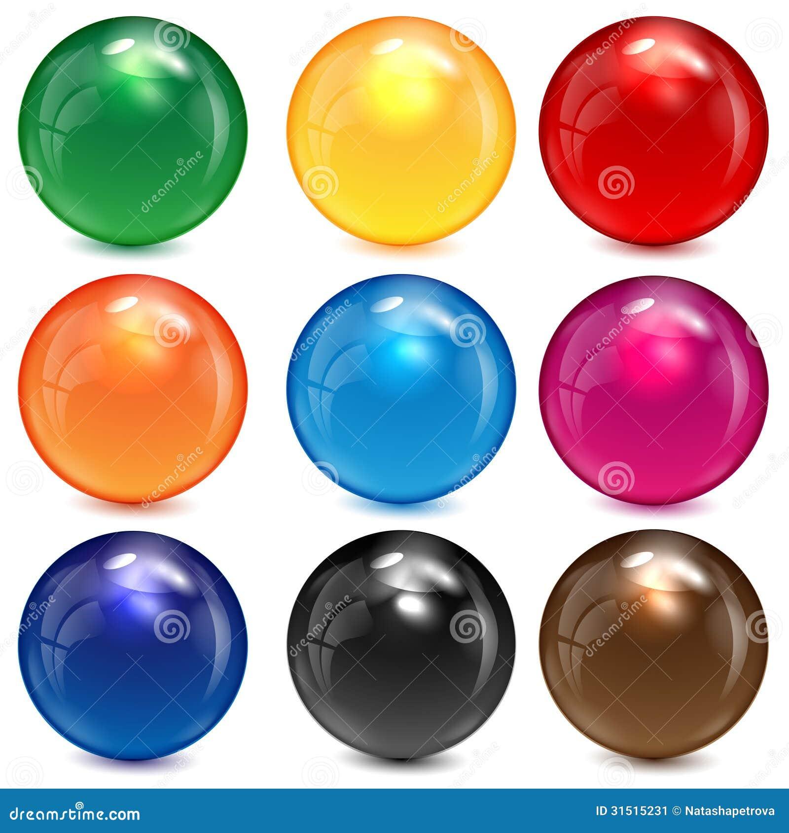 M Glass Spheres