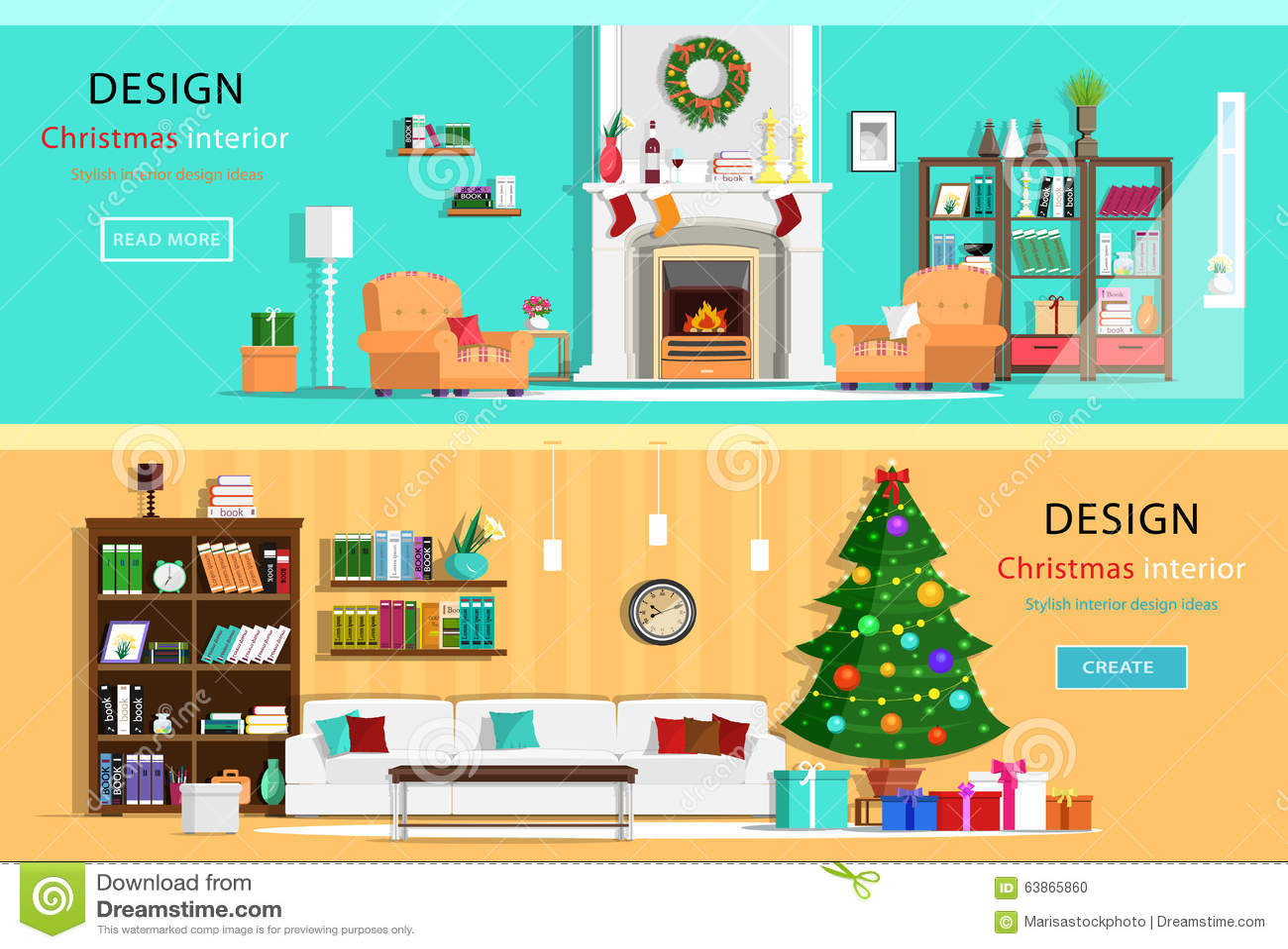 Furniture icons cupboard chair and tv table cartoon for Design della casa singola