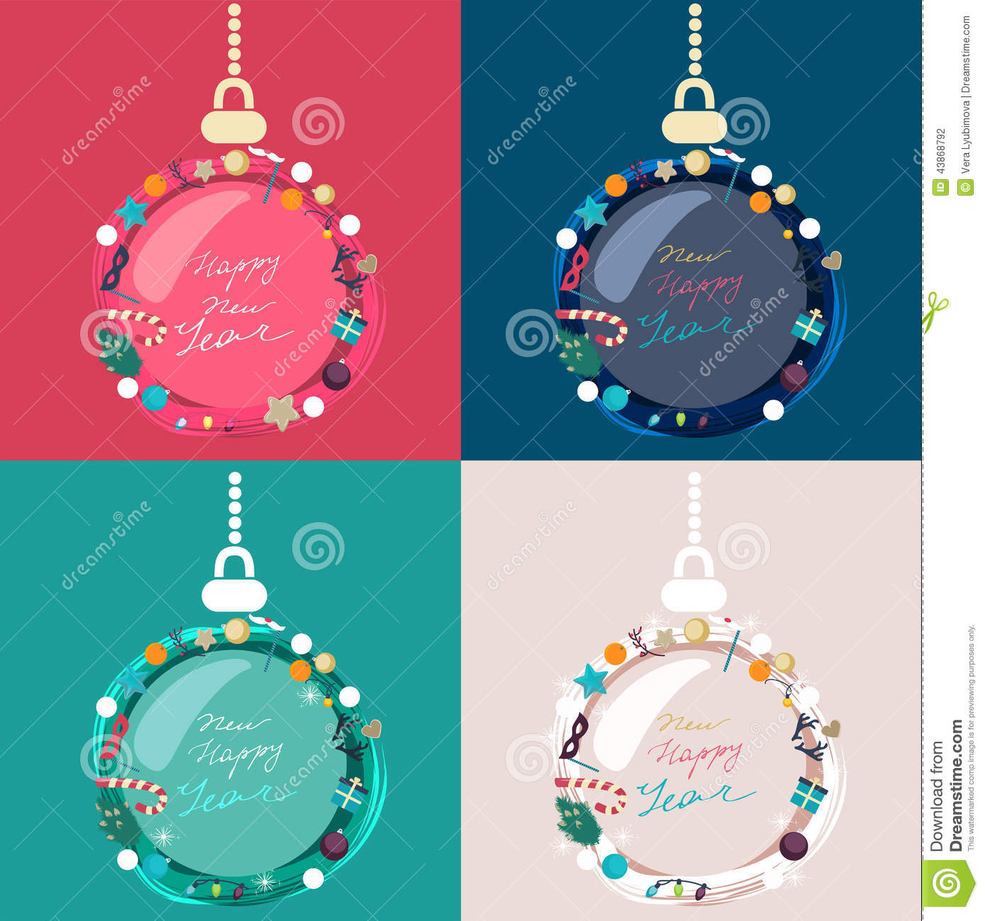 Set of colorful decorated Christmas baubles  sc 1 st  My Web Value | Decoration ideas blog. & decorated christmas baubles | My Web Value