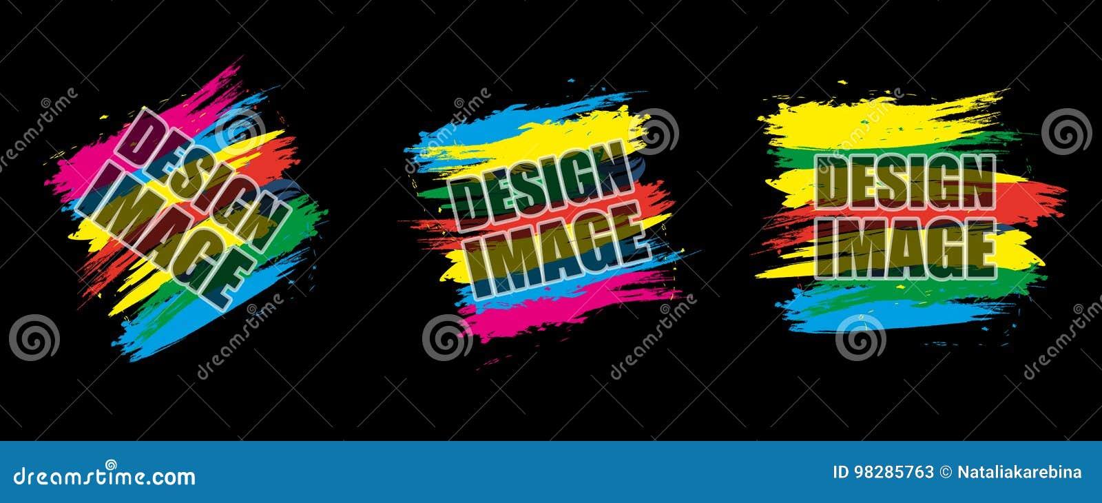 Set colorful modern frame dynamic design elements for a flyer dynamic design elements for a flyer business cards brochures presentations etc vector illustration reheart Choice Image