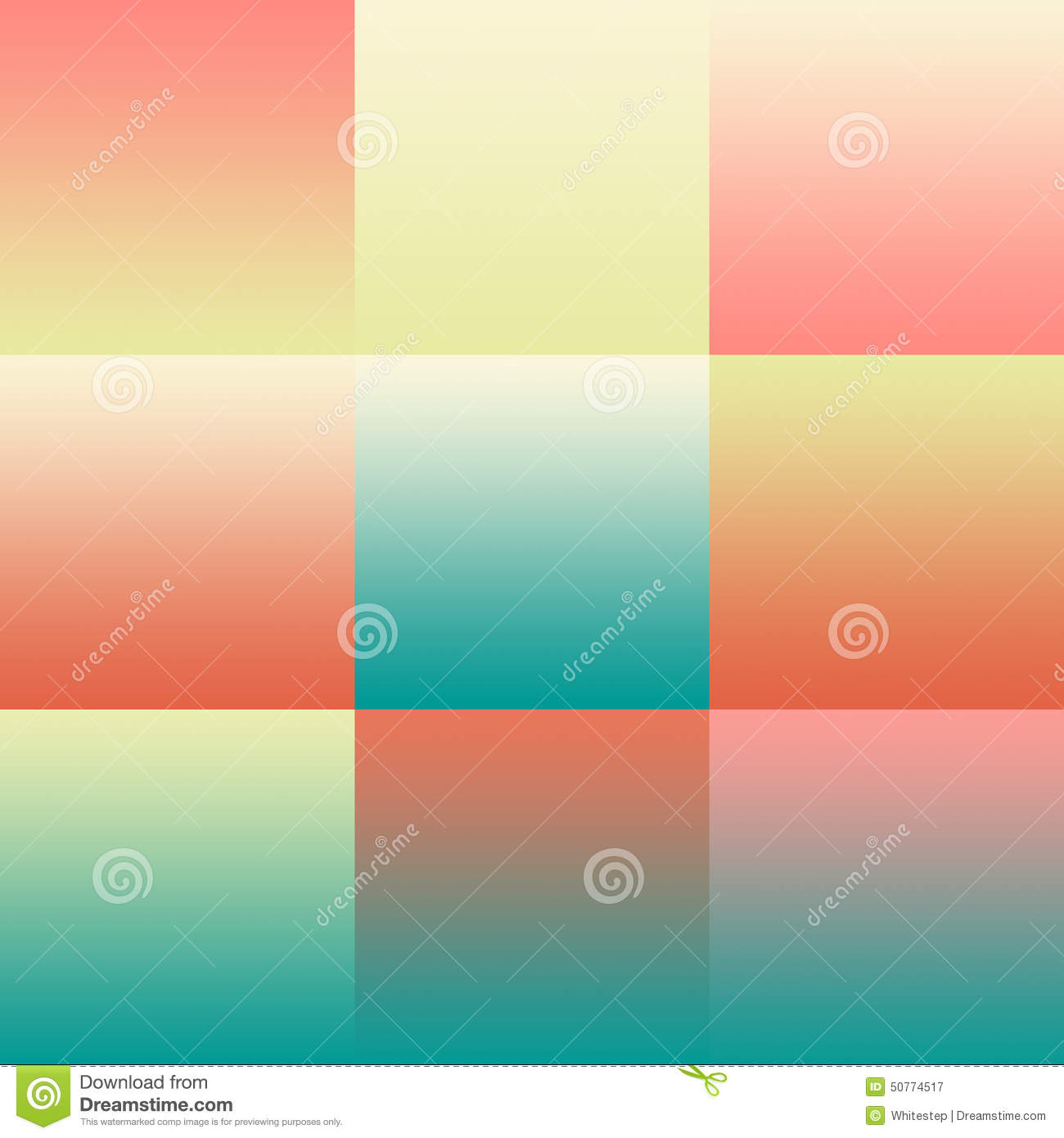 Set Of Colorful Pastel Abstract Backgrounds Gradients