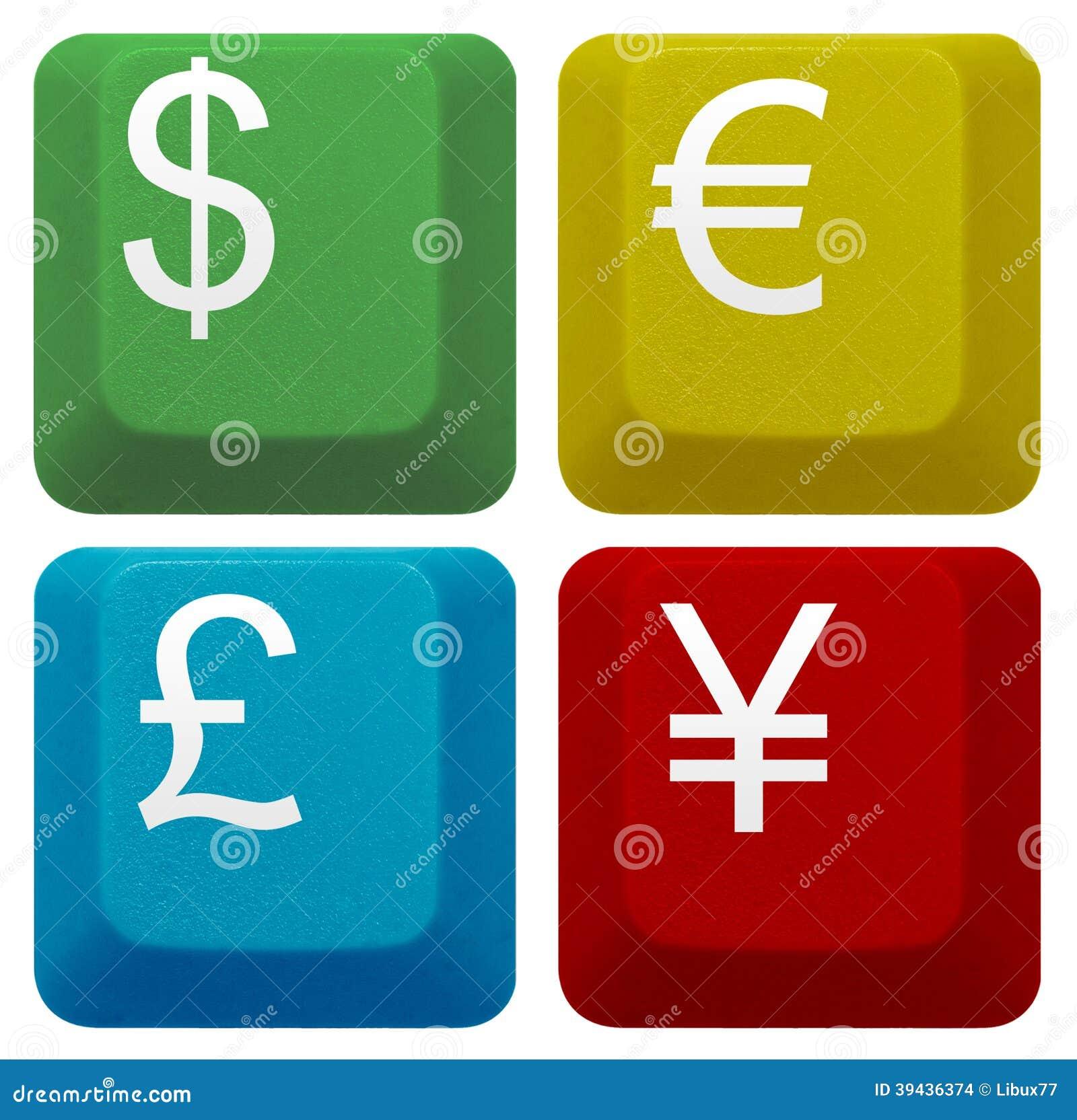 Set computer keyboard key currency banking stock photo image of royalty free stock photo biocorpaavc Choice Image