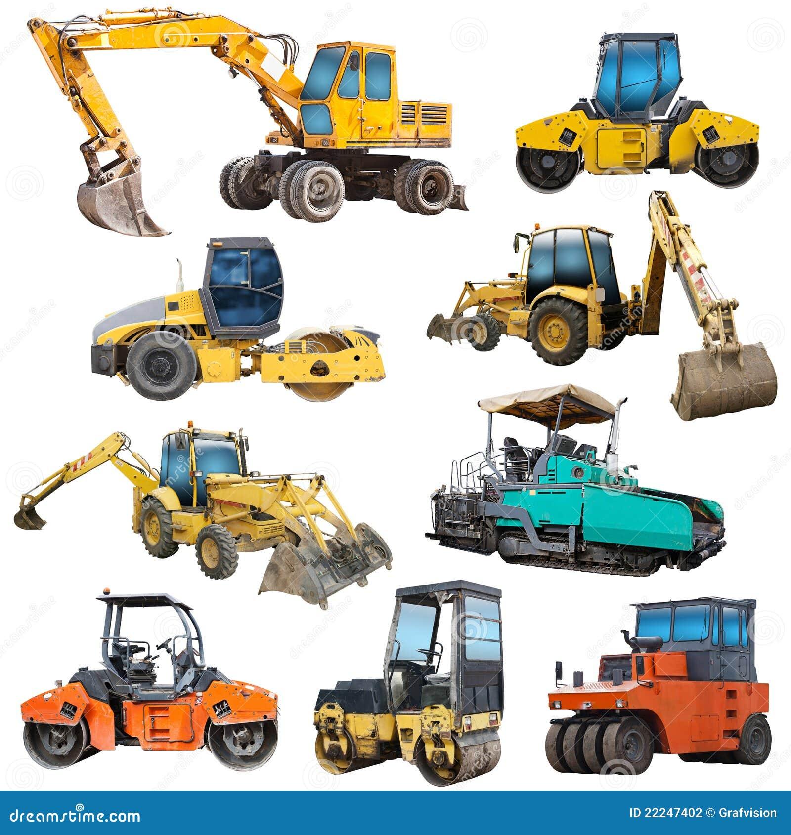 Set of construction machinery