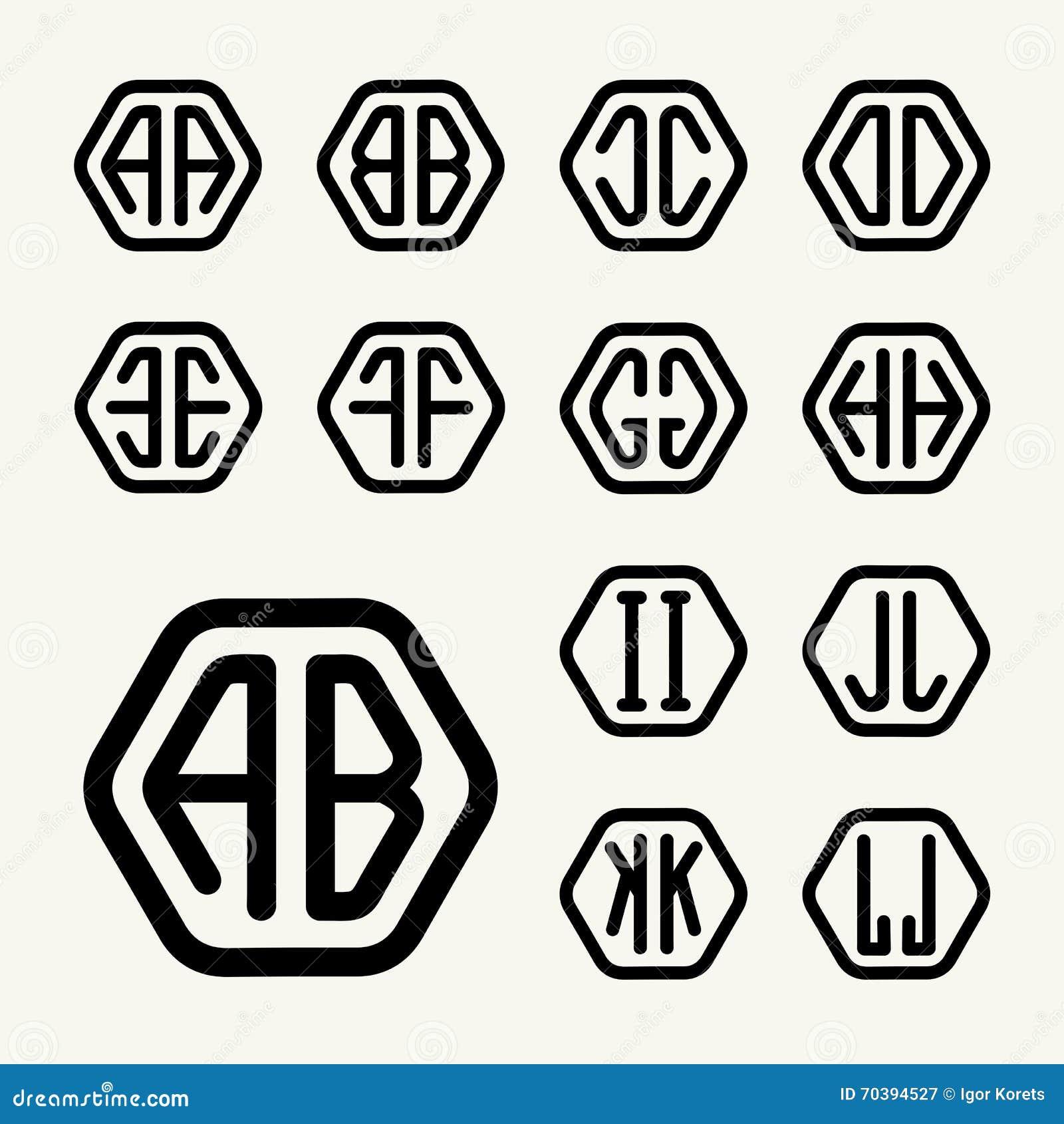 how to create a monogram logo