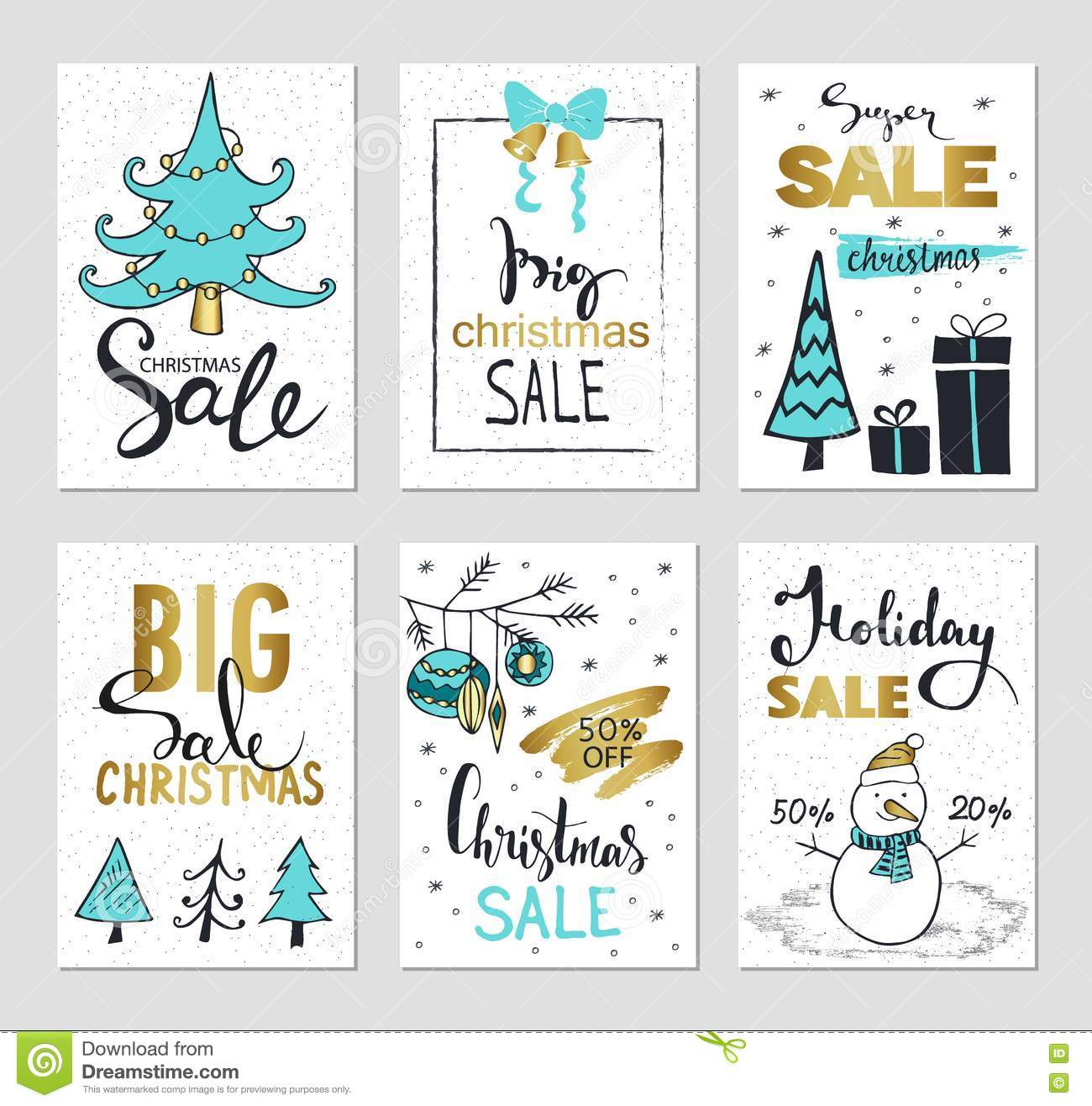 new year badge label promo banner template special offer set of creative holiday website banner templates christmas and new year illustrations for social