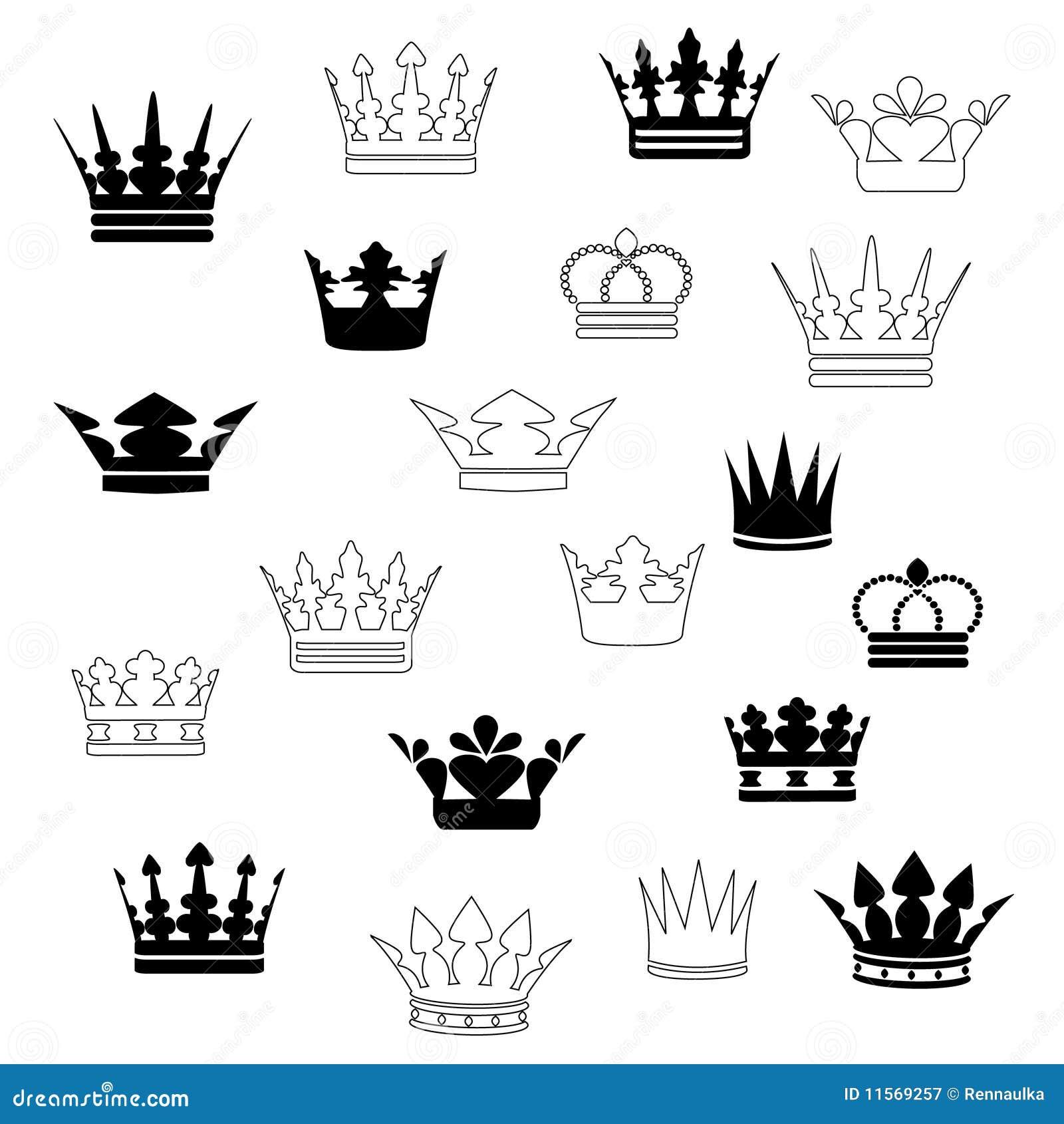 Корона на пике тату