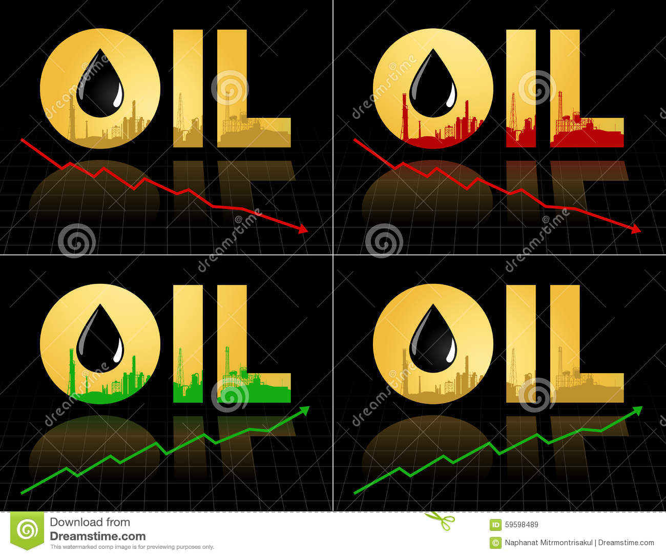 Set of crude oil price symbol with graph stock vector set of crude oil price symbol with graph biocorpaavc Gallery