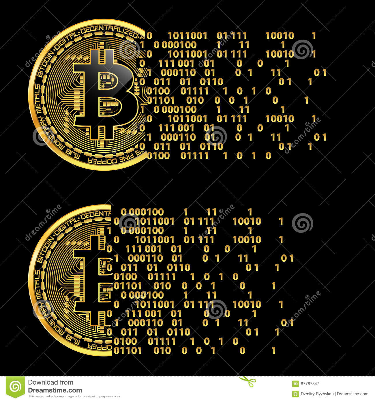 Royalty free cryptocurrency images