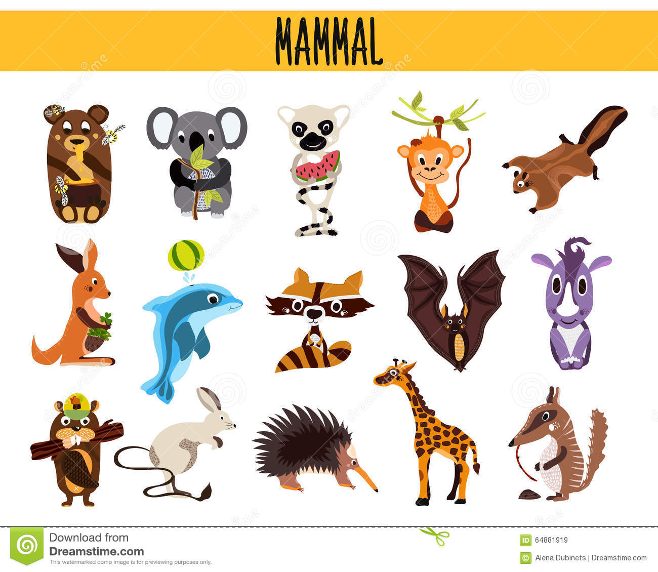 cute cartoon mammals www pixshark com images galleries lemur clip art black and white lemur clipart
