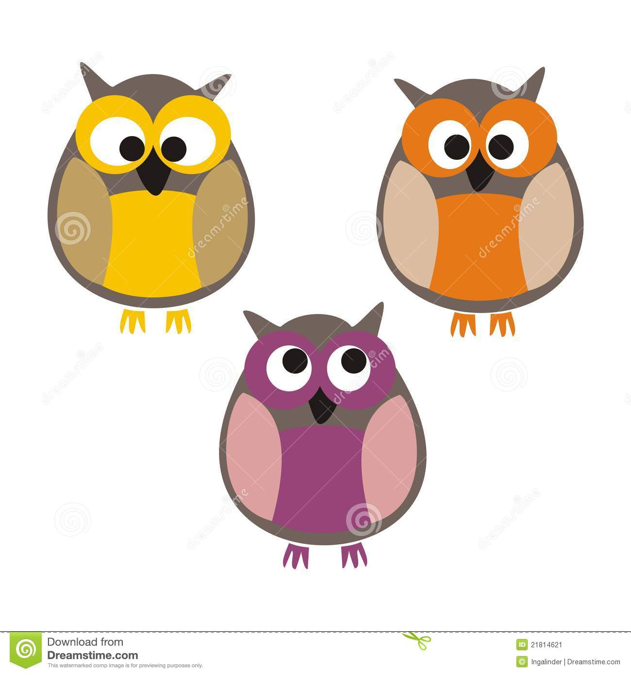 colorful cute owl vector - photo #11