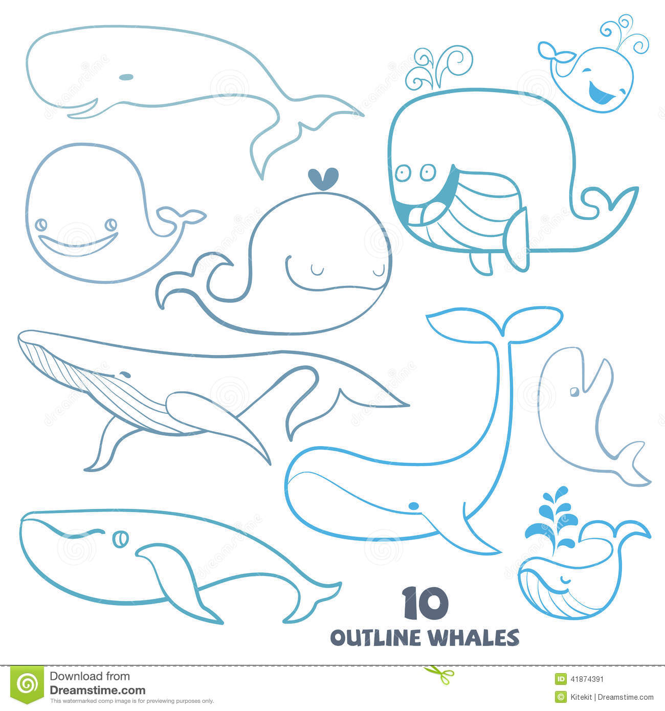 Kid Drawn Ocean Animals