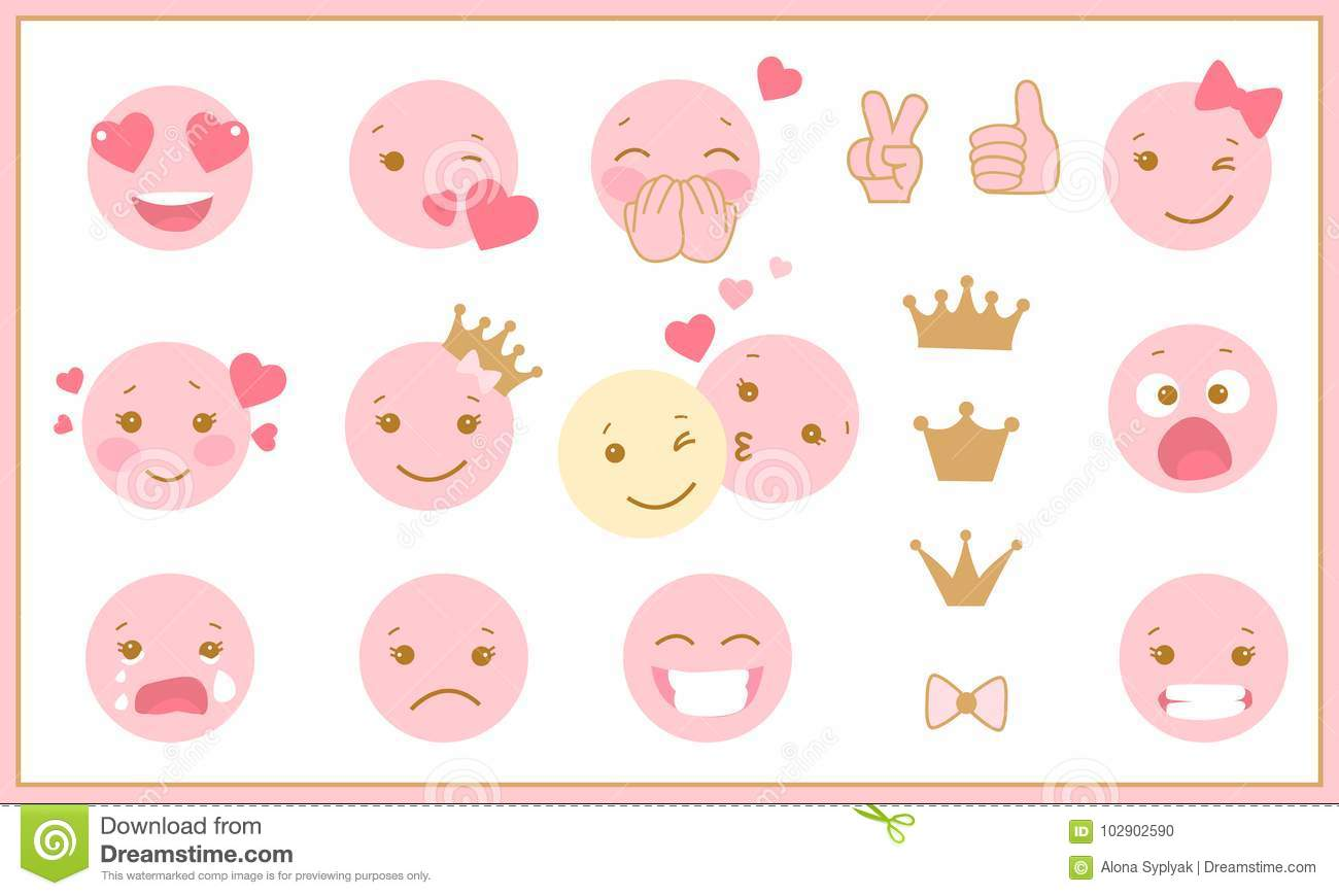 emotions in pink com