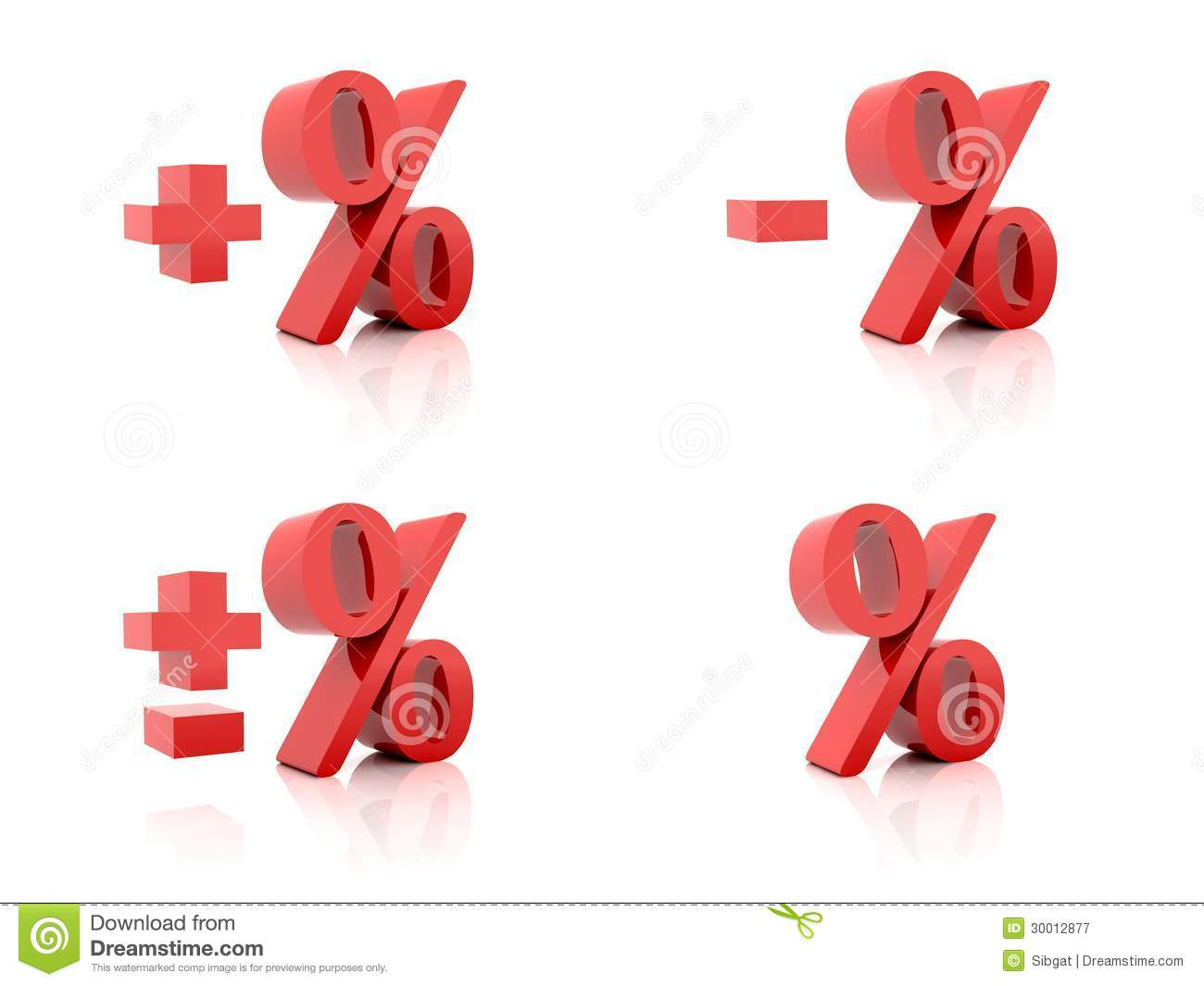 red 3d plus sign royaltyfree stock photography