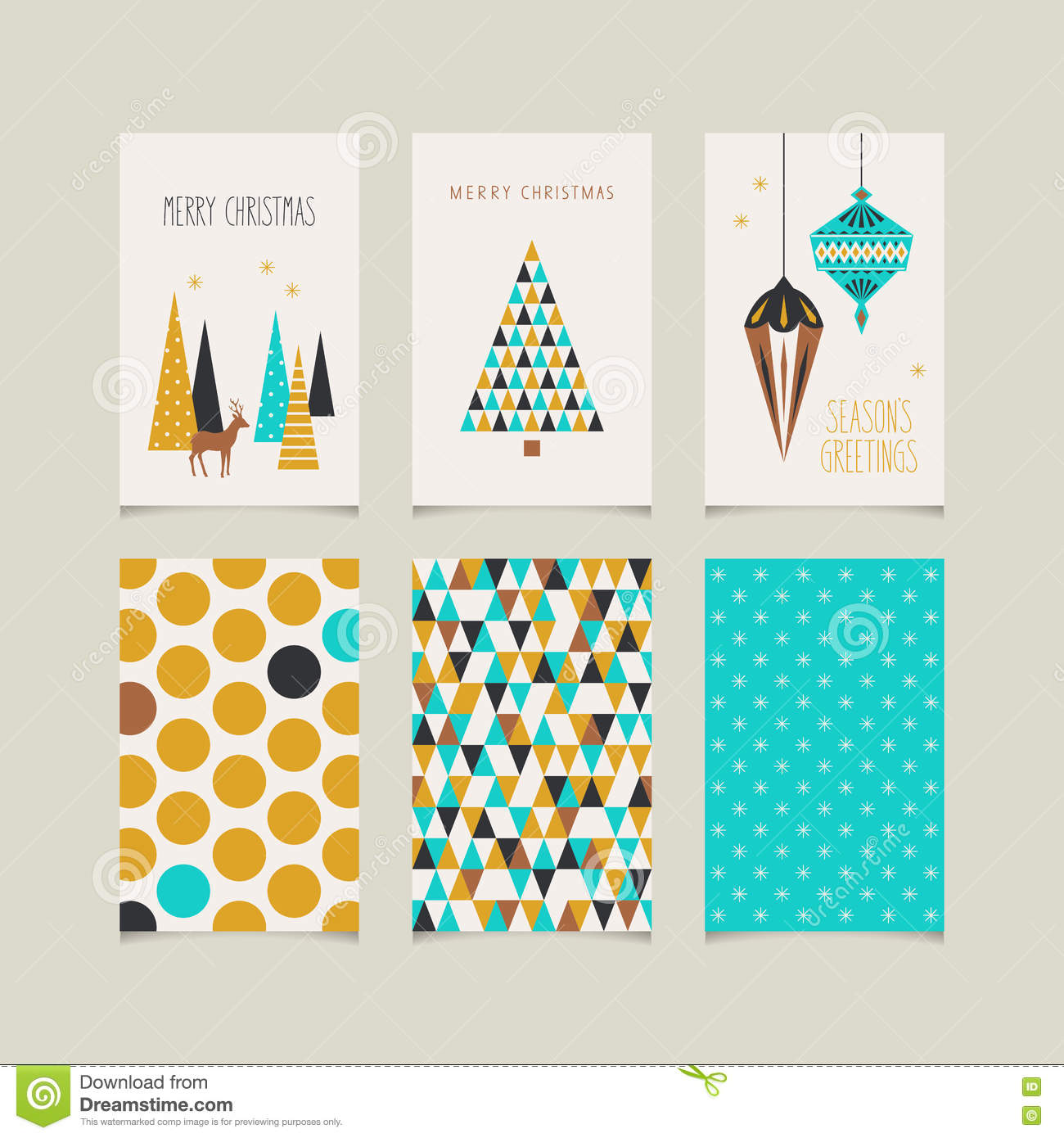 front and back christmas cards