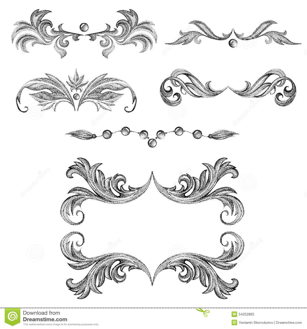 A set of decorative frames and design elements floral ornaments a set of decorative frames and design elements floral ornaments collection page junglespirit